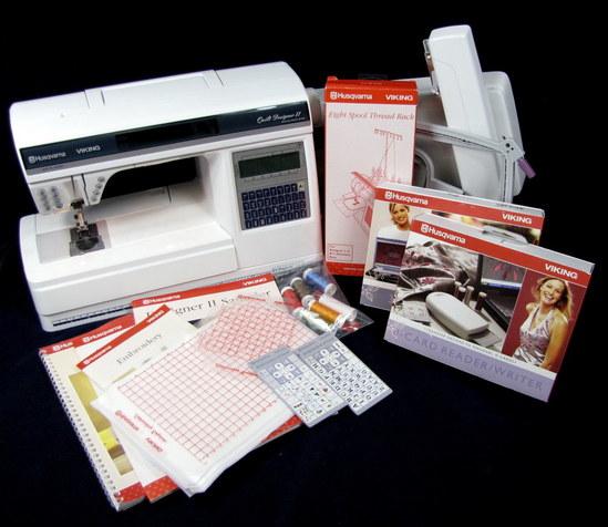 Husqvarna Viking Quilt Designer Ii Sewing Machine W