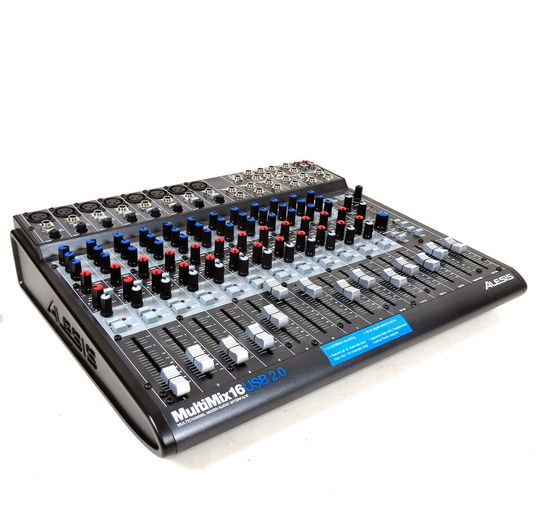alesis multimix16 multichannel mixer audio interface soundboard usb 2 0 firewire ebay. Black Bedroom Furniture Sets. Home Design Ideas