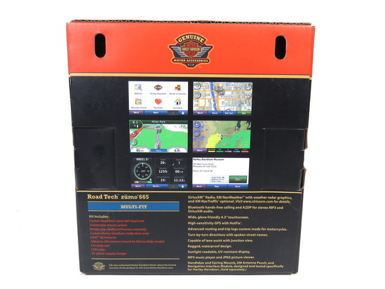 Harley Road Tech Zumo 665 Manual on