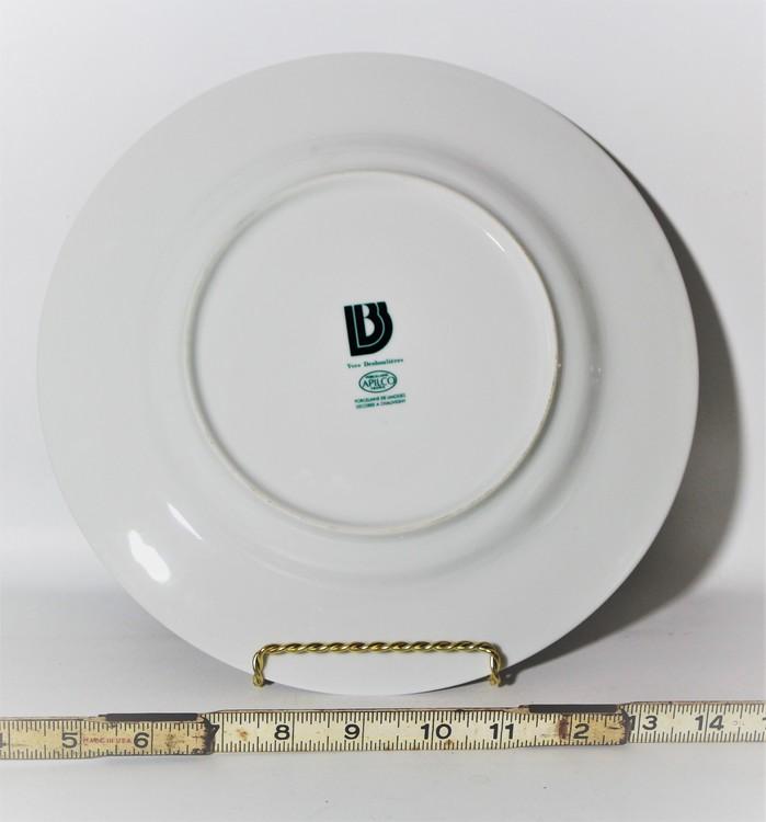 APILCO Morgane Set/6 Dinner Plate*Yves Deshoulieres*Retired*Fruit ...