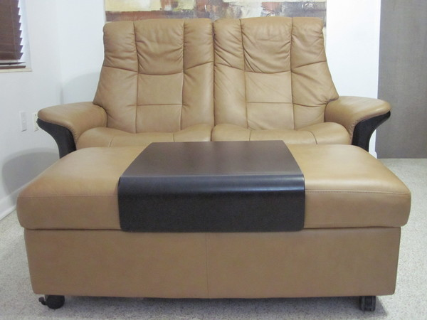 Ekornes Stressless Sofa Loveseat Leather Modern Lg