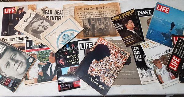 Original collection of  JFK & RFK Assassination Magazines John F Kennedy Robert