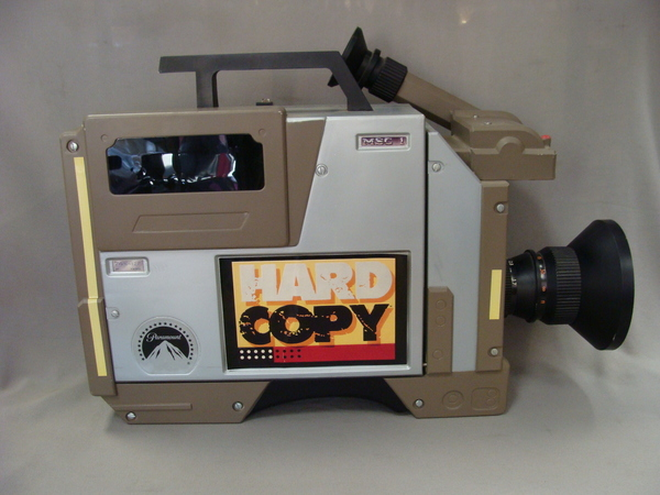 Hard Copy Tabloid News TV Memorabilia Press Promo Kit Box Video Camera