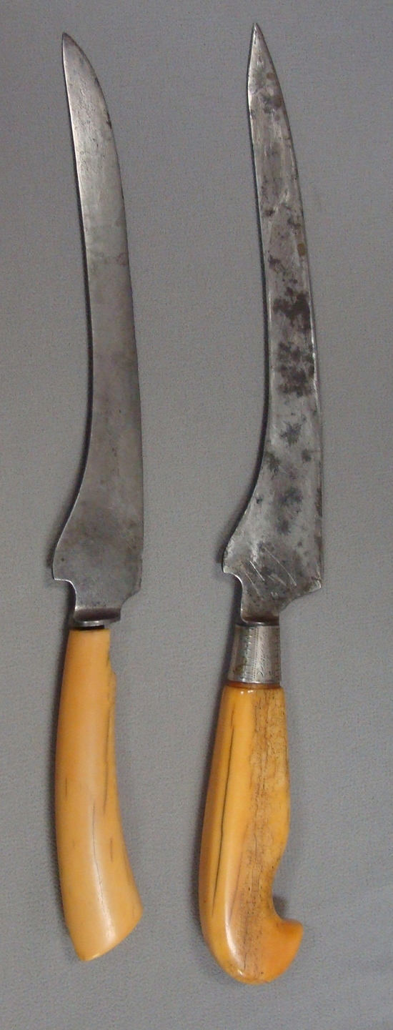 Will & Finck S.F. Cal Filet Knives  San Francisco Antiques Signed & Marked