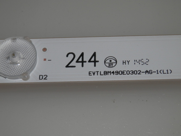 LED STRIPS FOR M49-C1 /& LBM490E0302-X-2 VIZIO LBM490E0302-W-2 L R