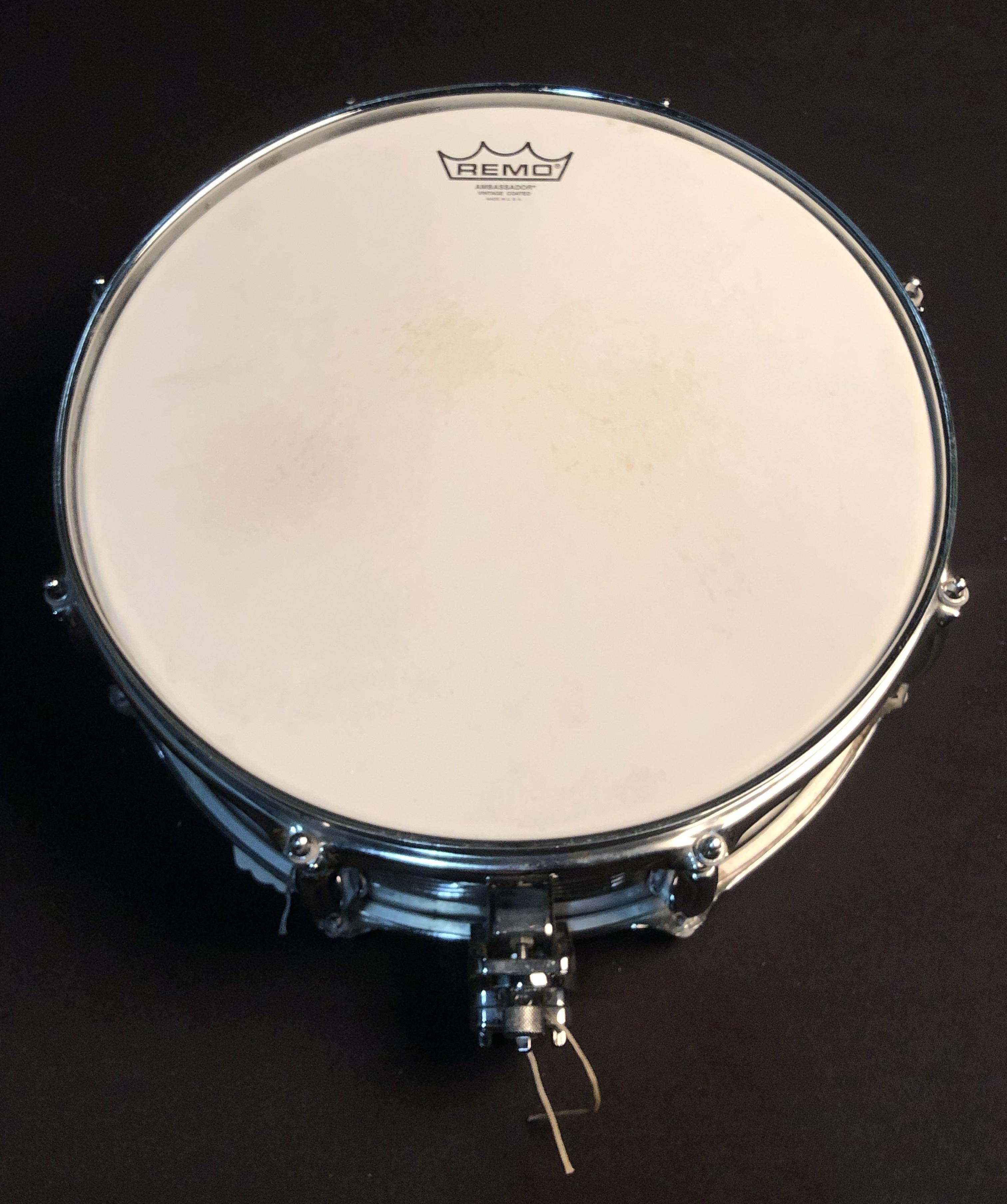 SLINGERLAND - Chrome over Brass Snare 14