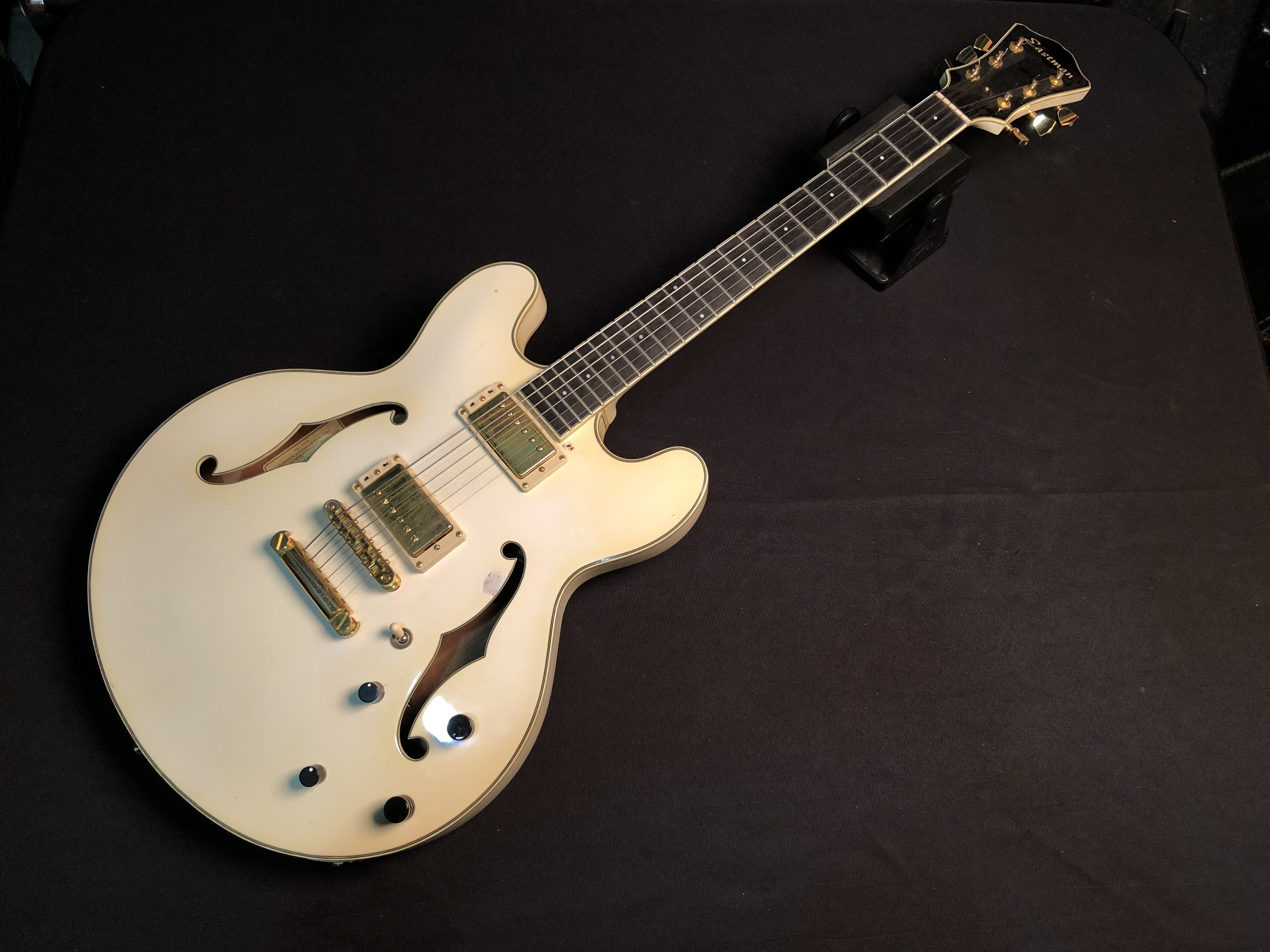 2009 EASTMAN - T186 MX WHITE - ELECTRIC GUITAR