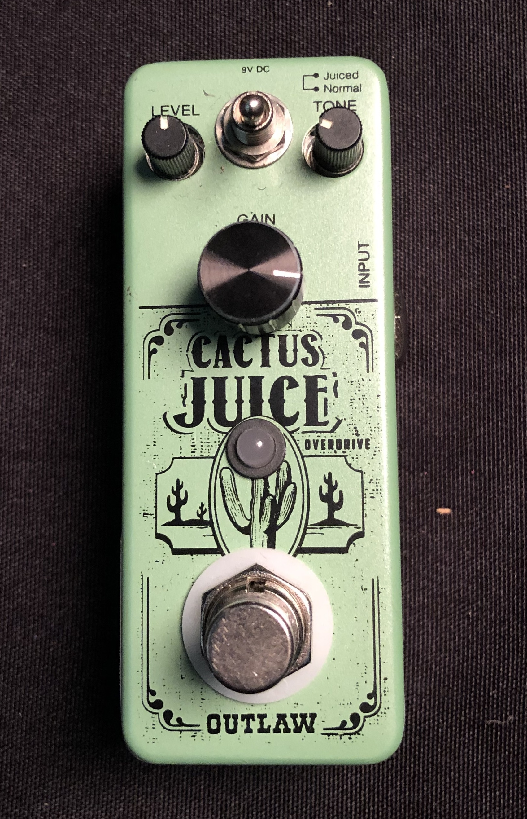 OUTLAW - Cactus Juice Overdrive Pedal