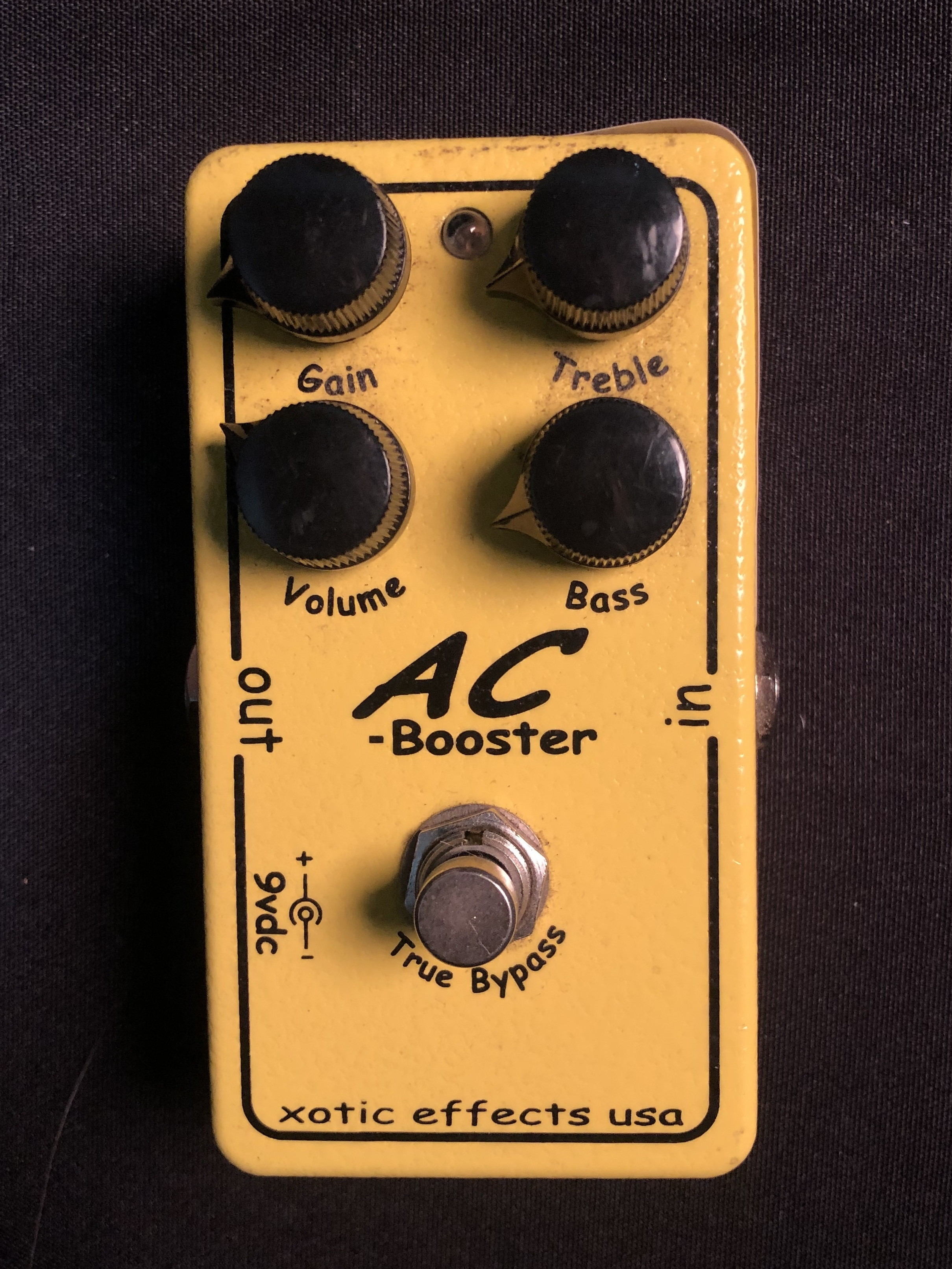 XOTIC - AC-BOOSTER With True Bypass Pedal
