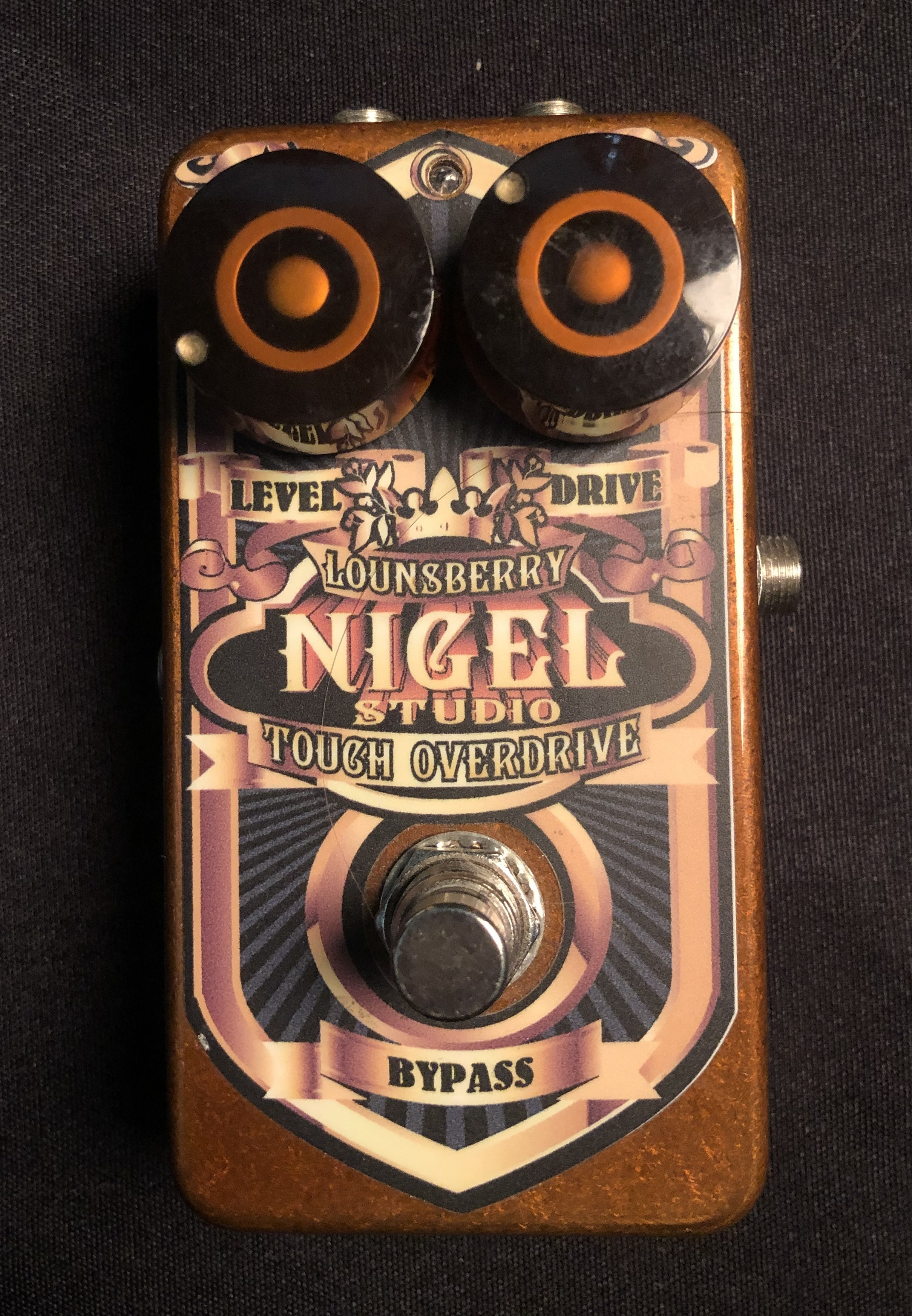 LOUNSBERRY - Nigel Studio Touch Overdrive Pedal