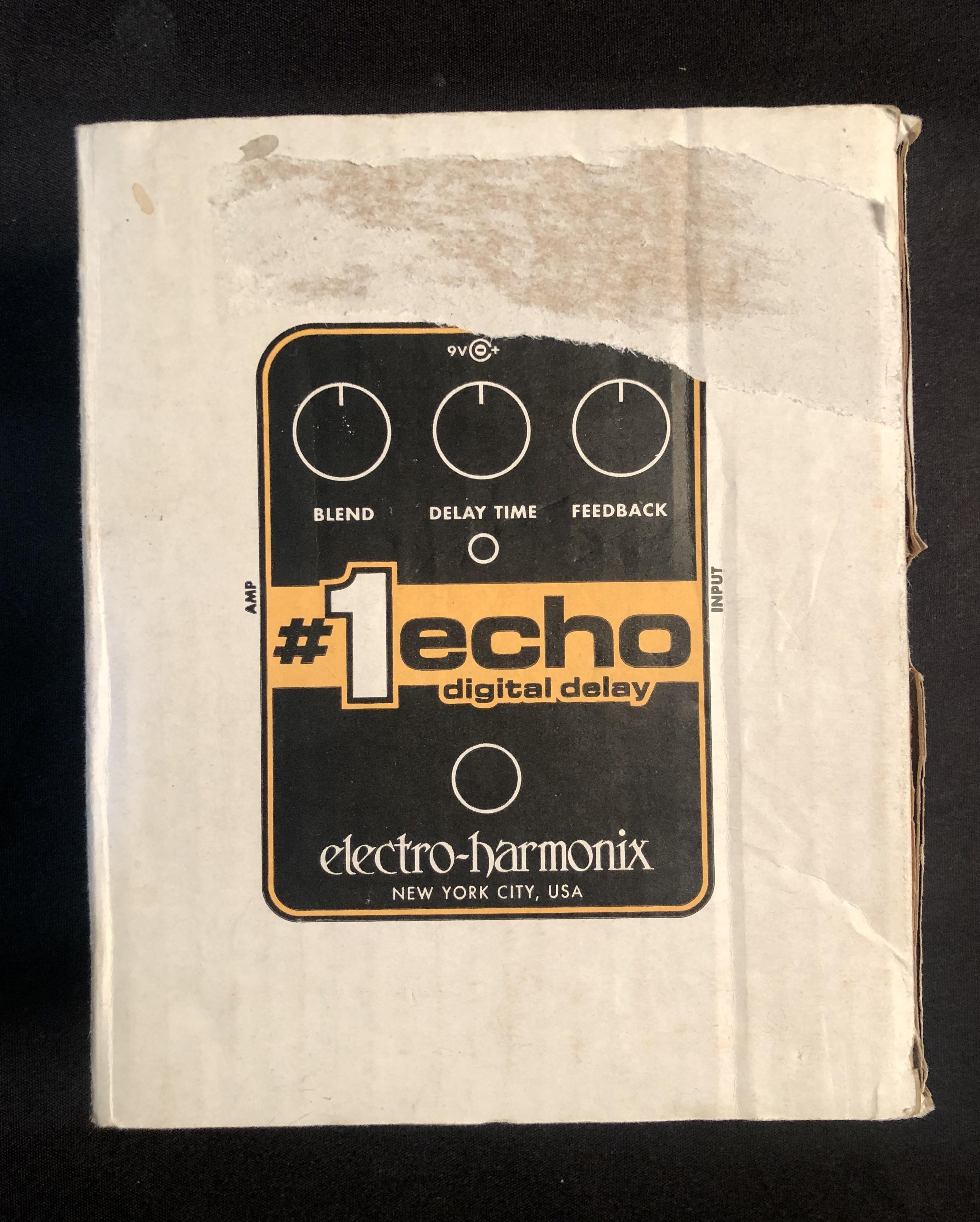ELECTRO-HARMONIX - #1 Echo Digital Delay