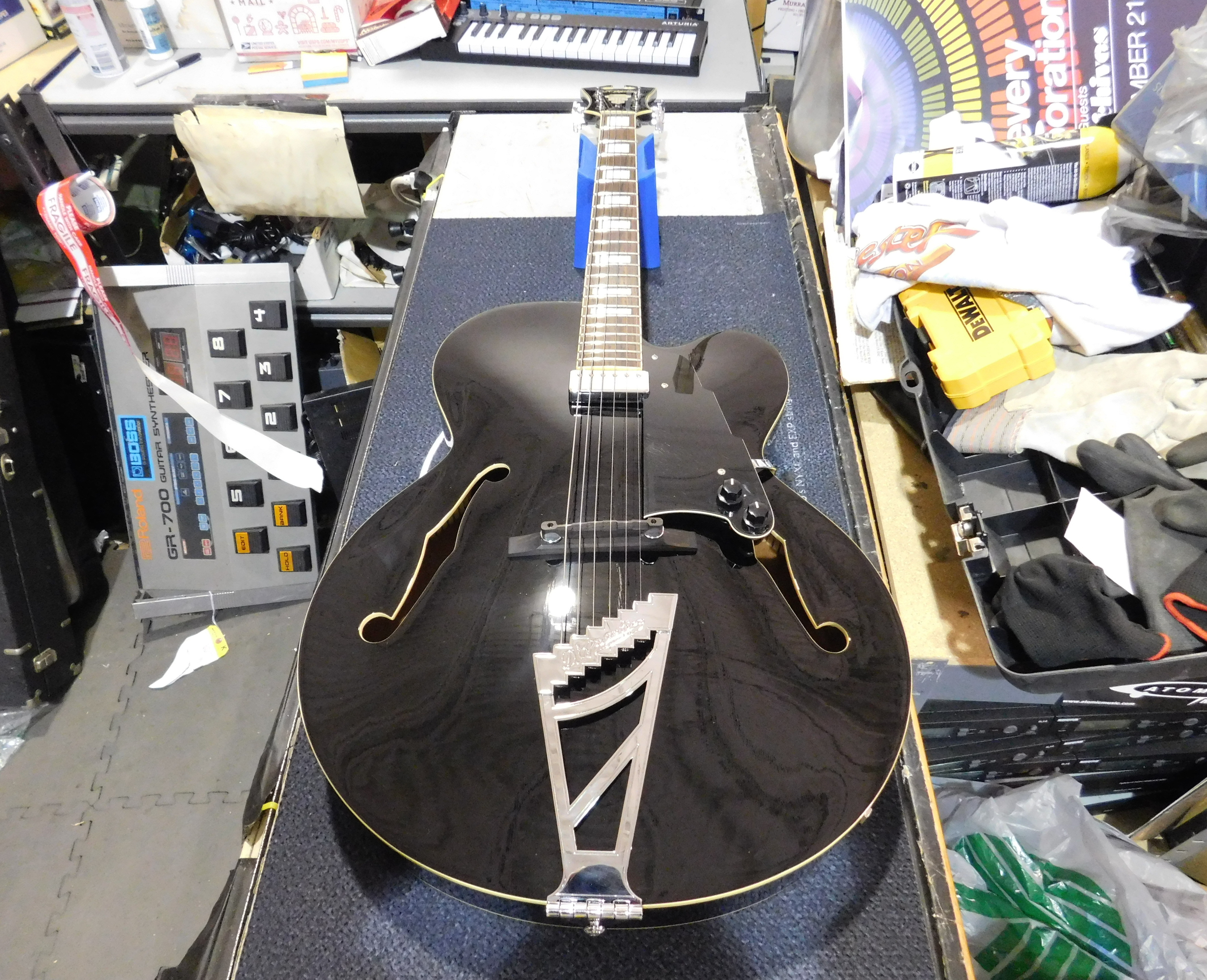 D'ANGELICO Premier EXL-1 Hollowbody Electric Guitar w/ Stairstep Tailpiece HSC