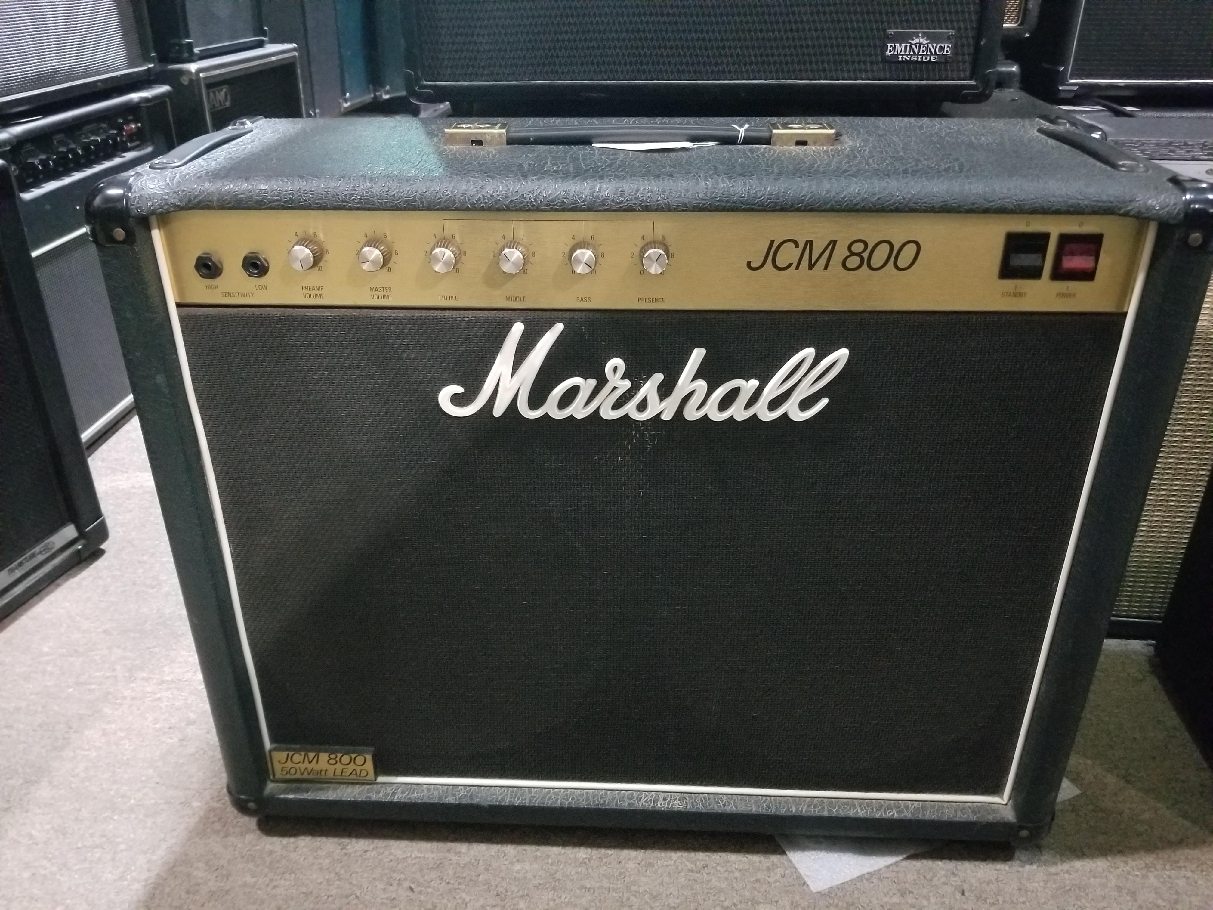 MARSHALL JCM 800 MODEL 4104 50-Watt 2x12 Tube Combo Amp - Local Pickup Only!