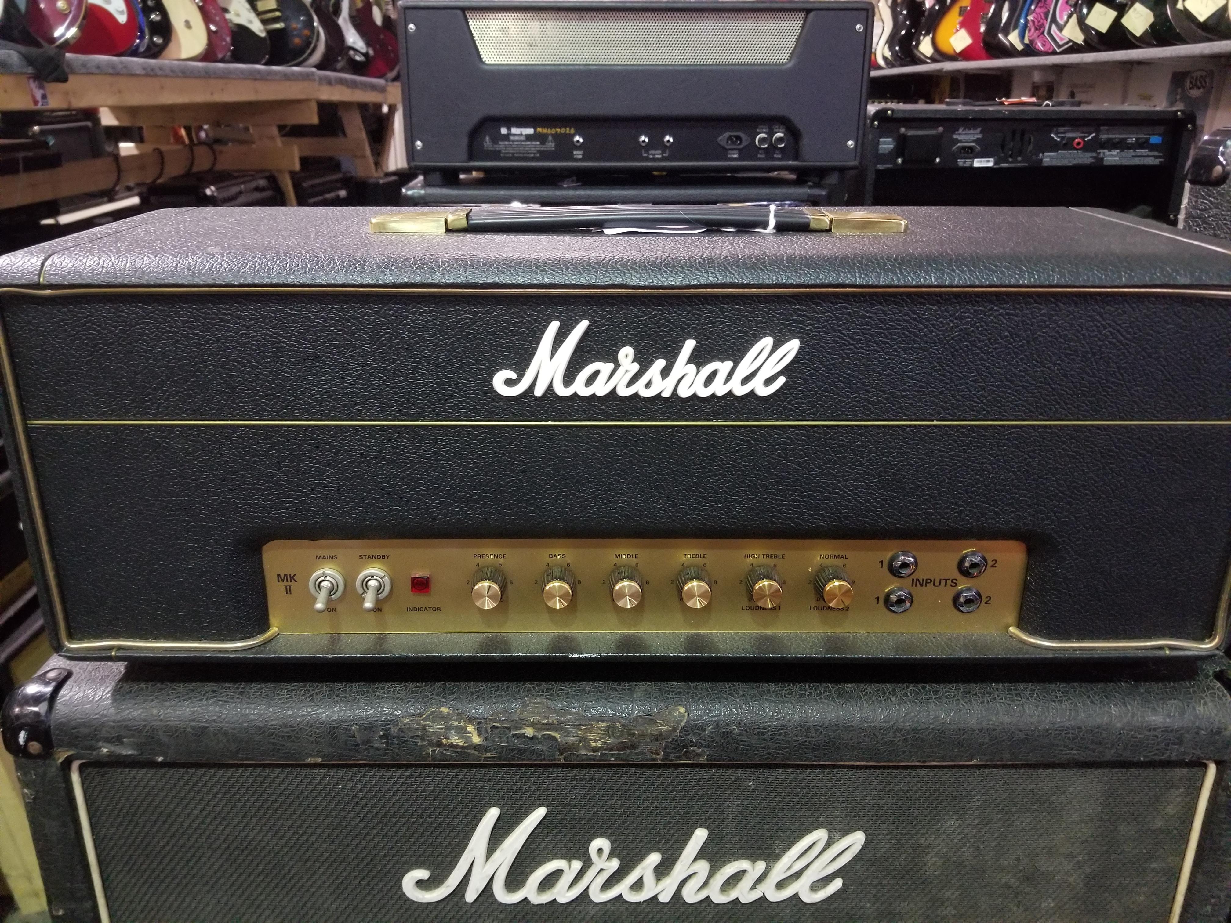 MARSHALL JMP MKII 50-Watt Reissue Tube Amp Head - Local Pickup Only!