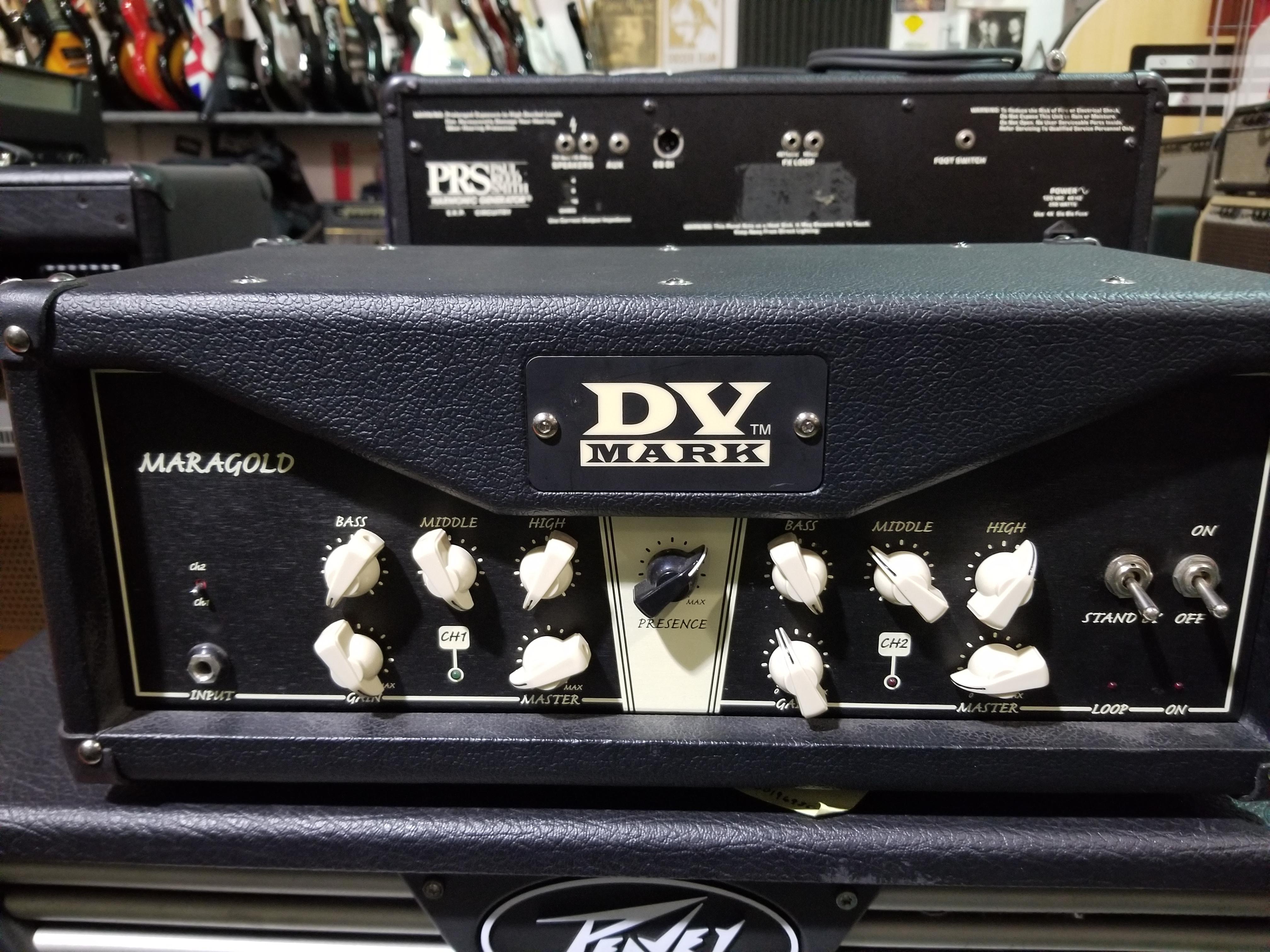 DV MARK Greg Howe Maragold Signature 40W Tube Guitar Amp Head