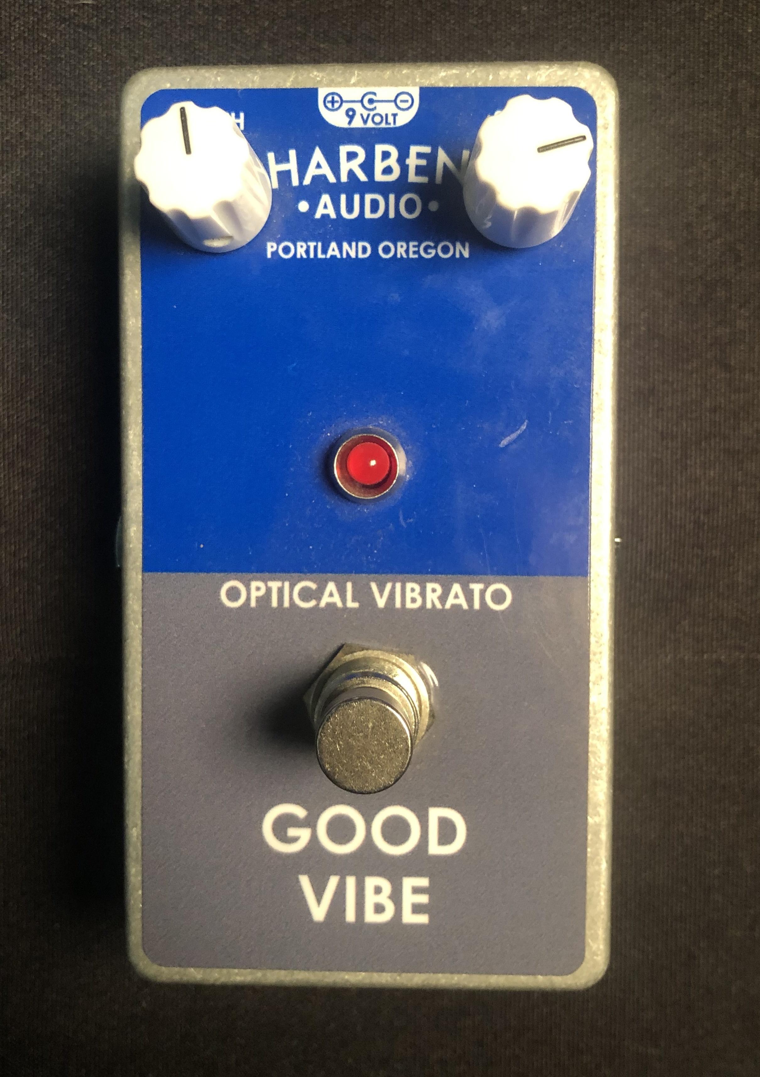 HARBEN AUDIO - Good Vibe Optical Vibrato Pedal