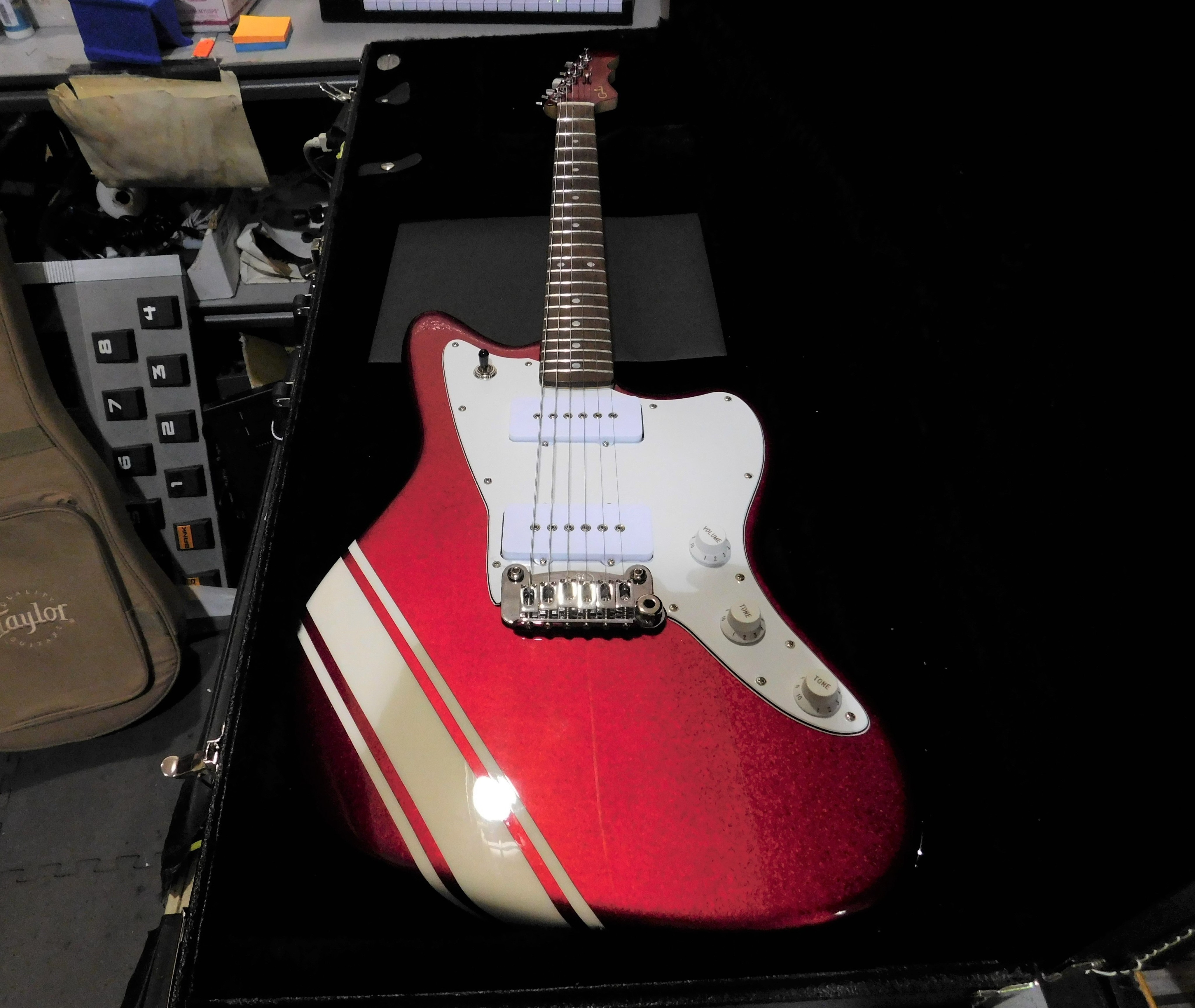 2018 G&L Doheny Electric Guitar Candy Apple Red Metallic HSC