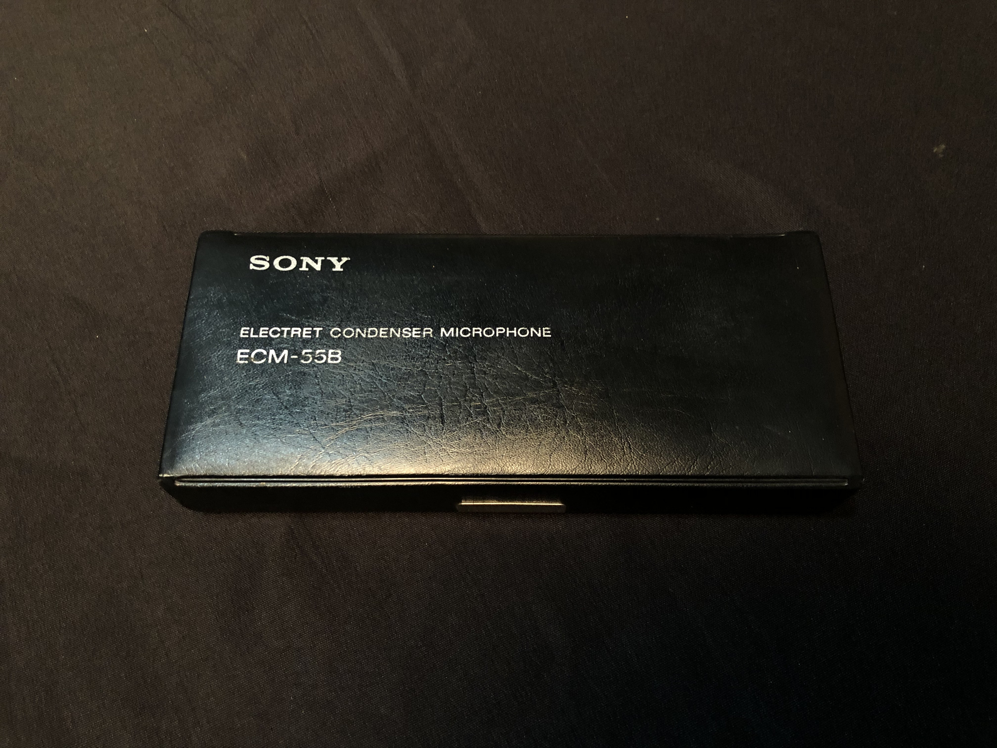 SONY - ECM 55B - CONDENSER MICROPHONE