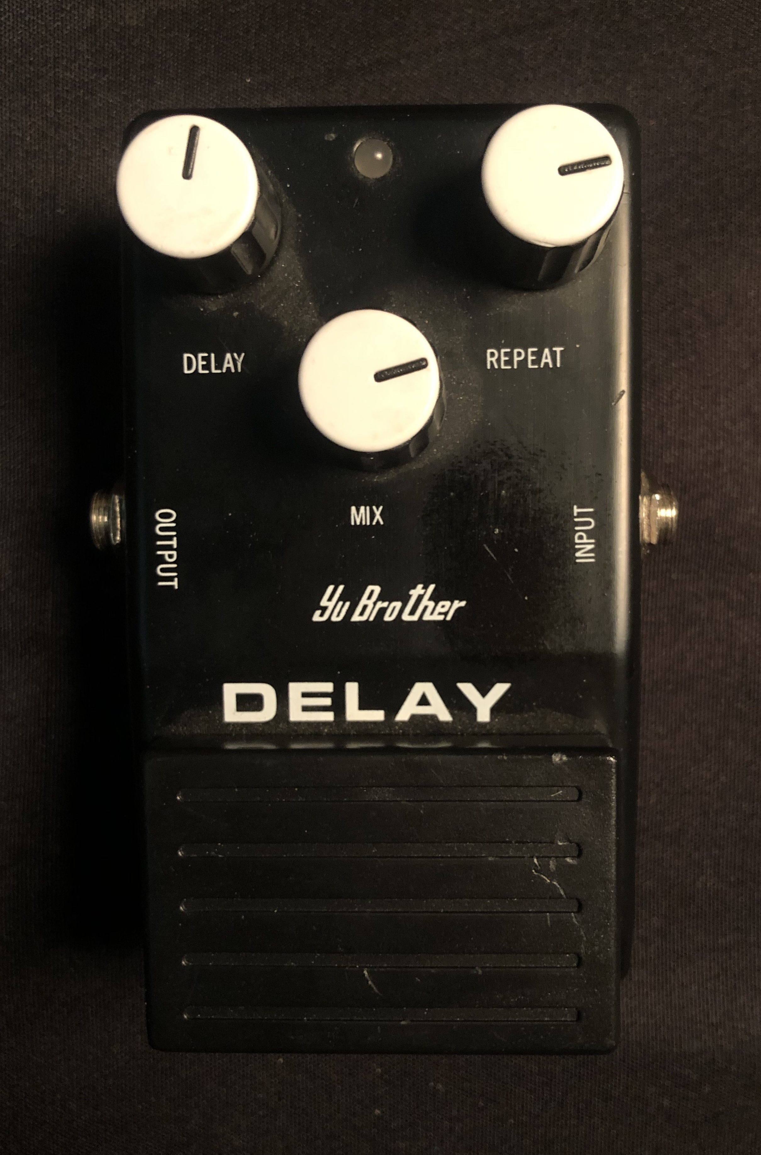 YU BROTHER - Delay Pedal