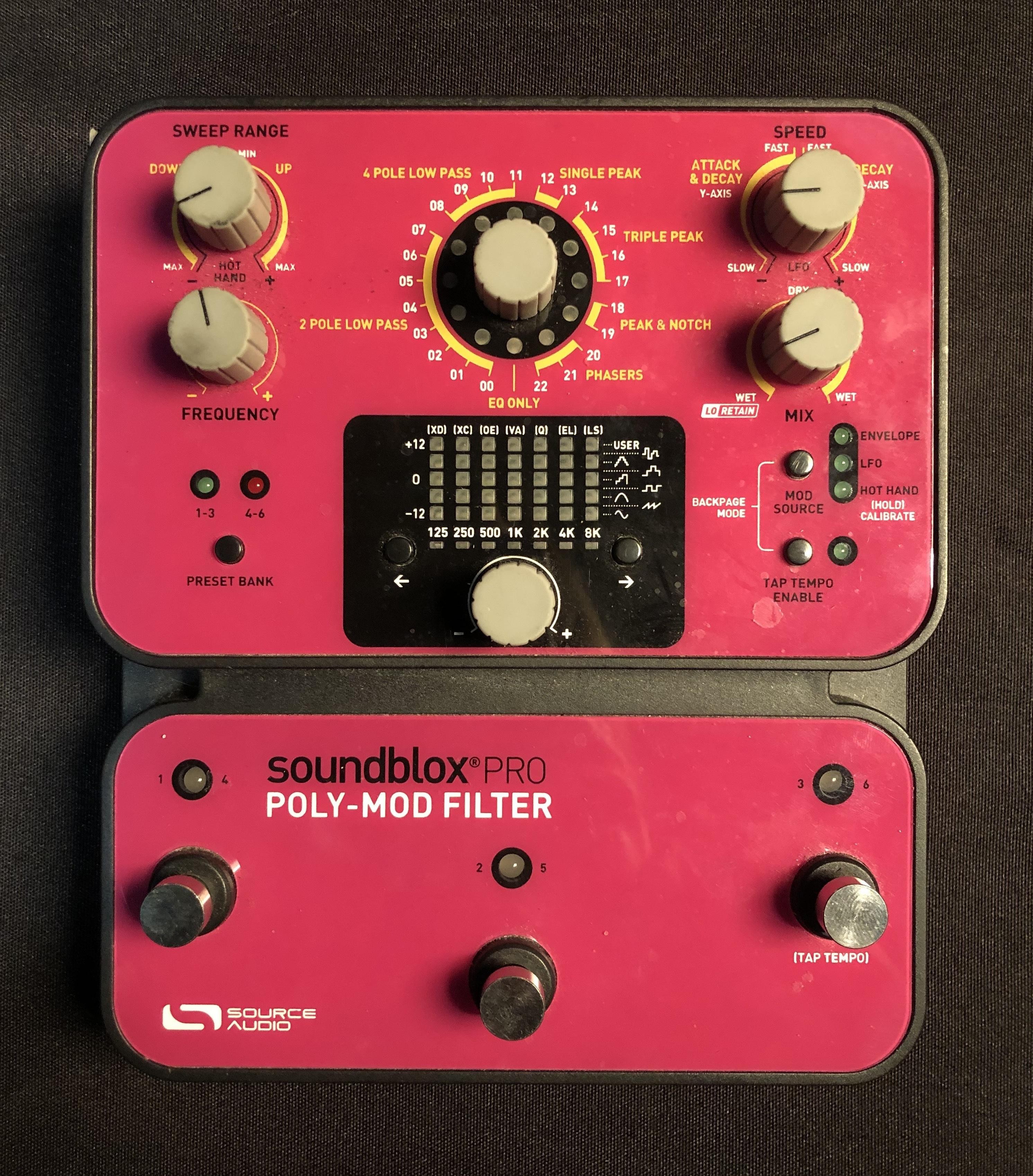 SOURCE AUDIO - Soundblox Pro Poly-Mod Filter