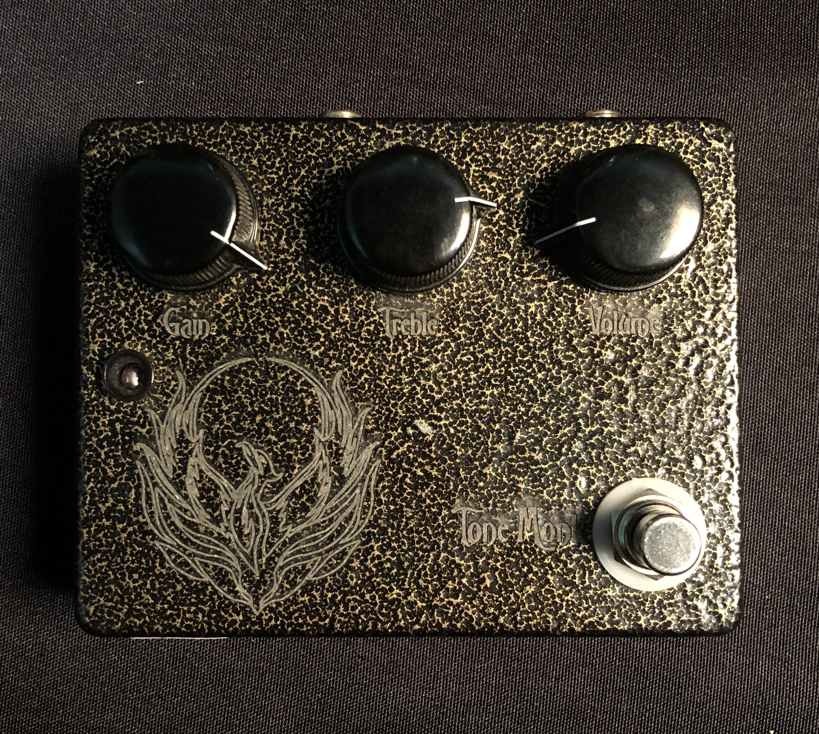 TONE MONK - Phoenix Gold Overdrive Pedal