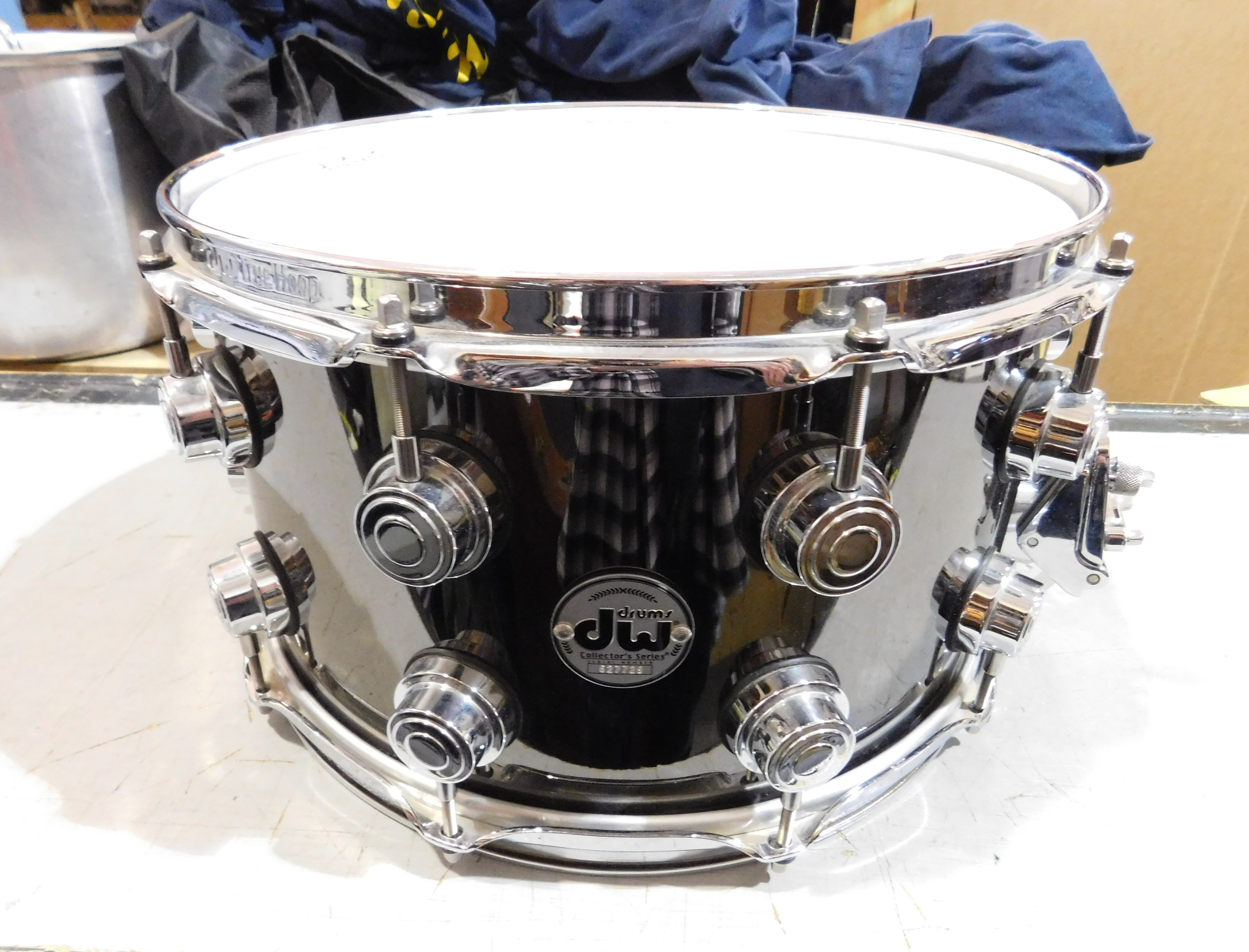 DW Collector's Series Nickel over Brass Snare Drum 14
