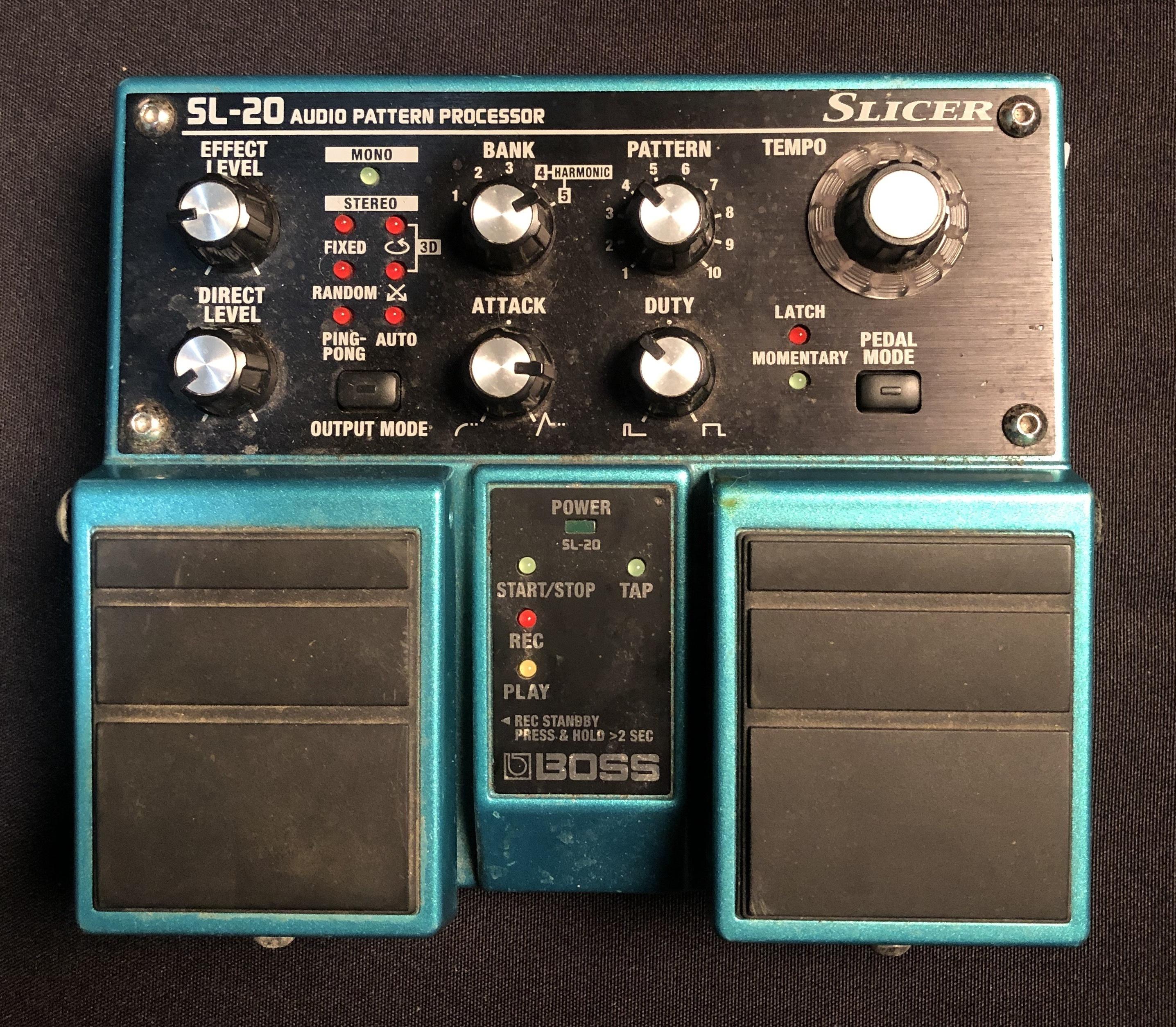 BOSS - SL-20 Slicer Audio Sound Processor