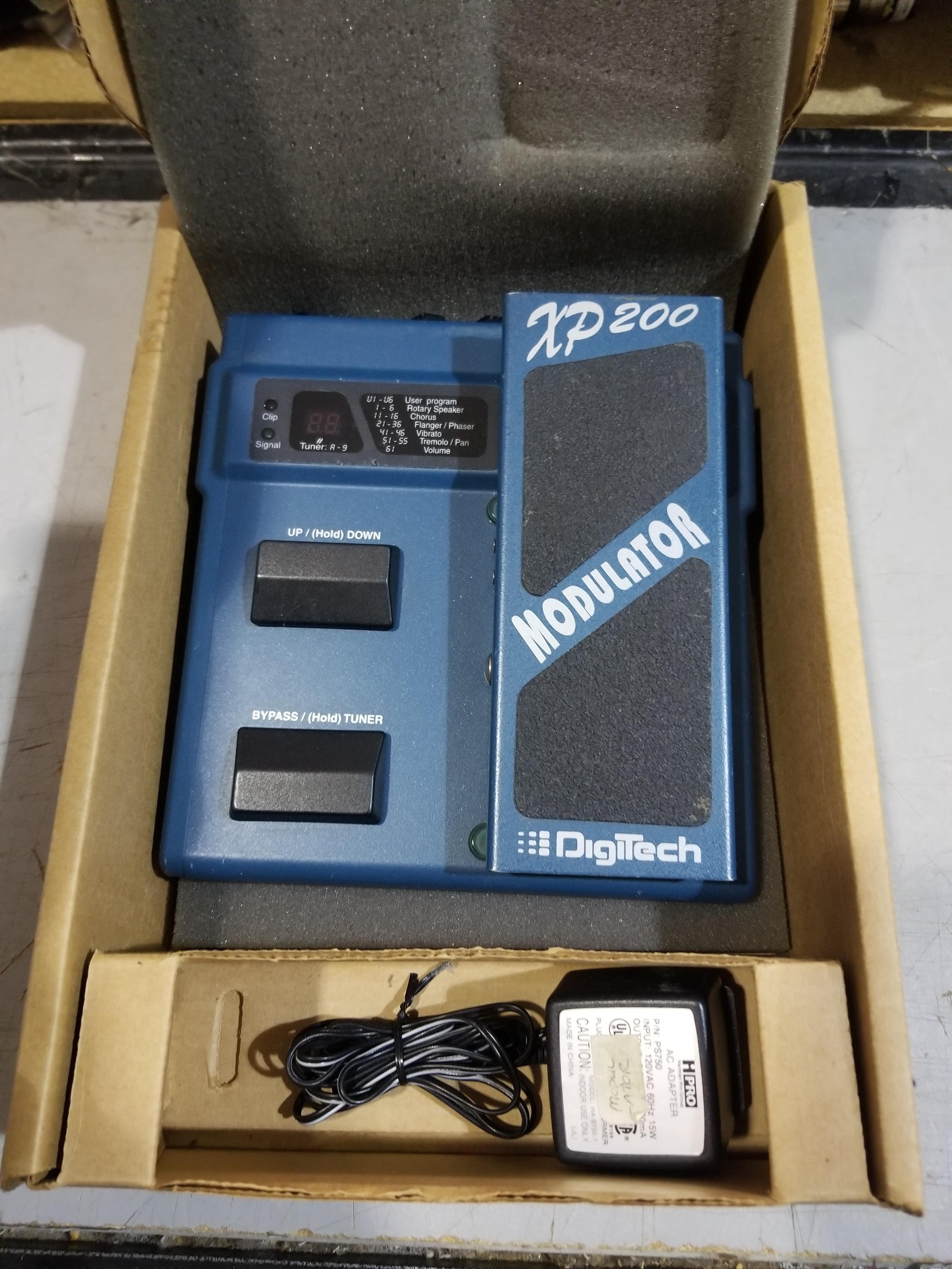 DIGITECH XP-200 Multi-Fx Modulator Effect Pedal