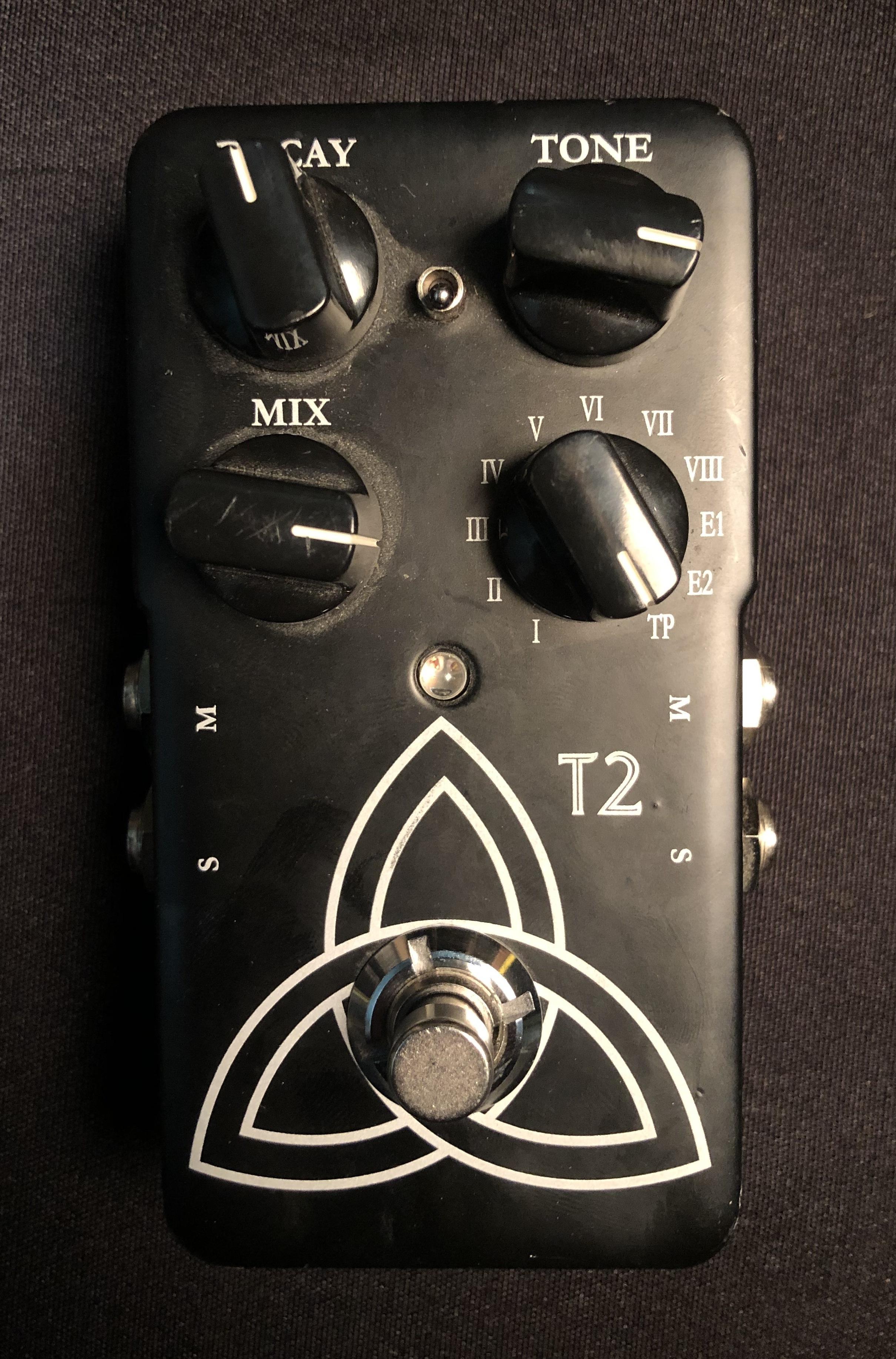 TC ELECTRONIC - T2 Reverb Pedal