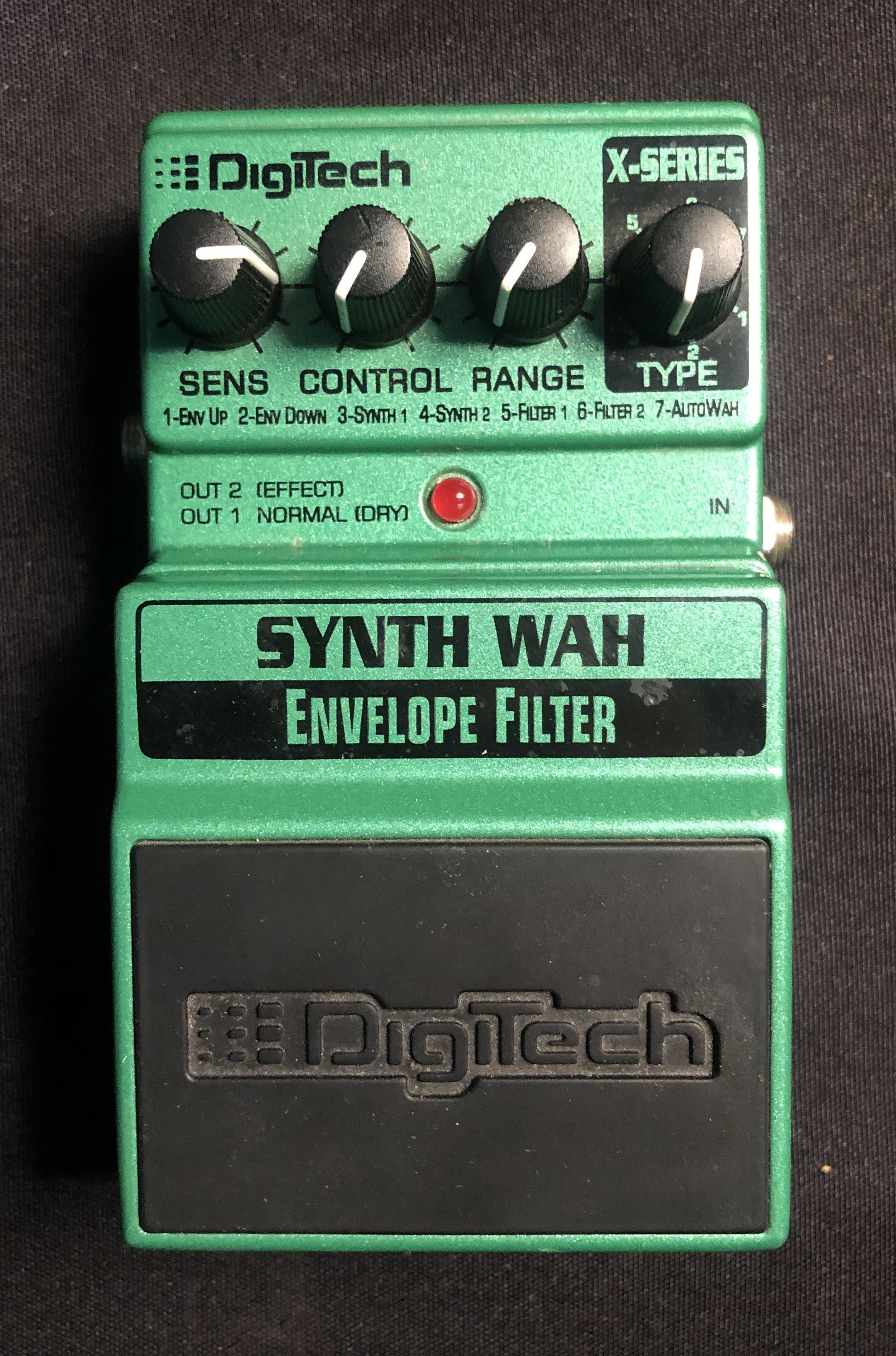 DIGITECH - Synth Wah Envelope Filter Pedal