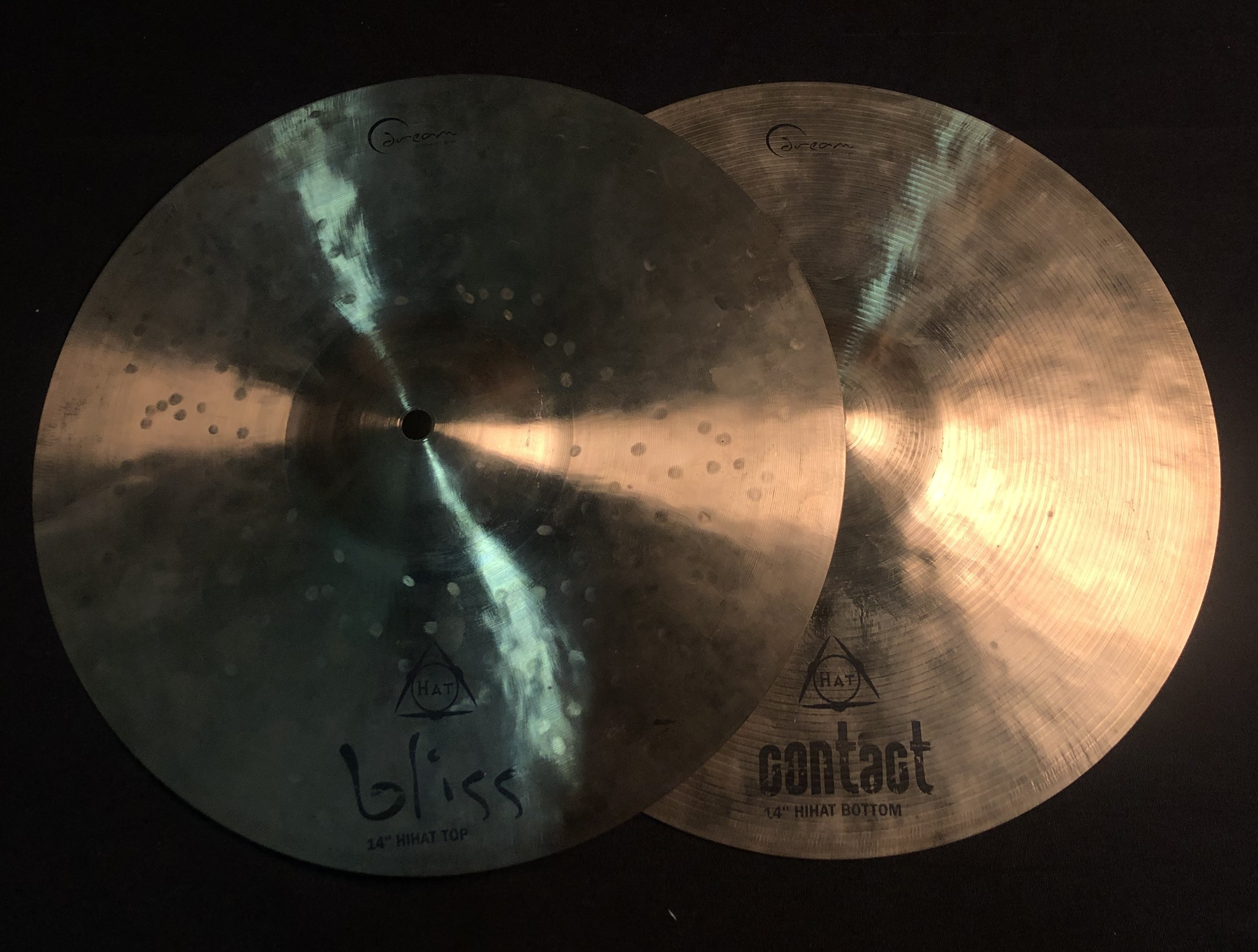 DREAM - Bliss (Top) and Contact (Bottom) Hi-Hat Pair 14