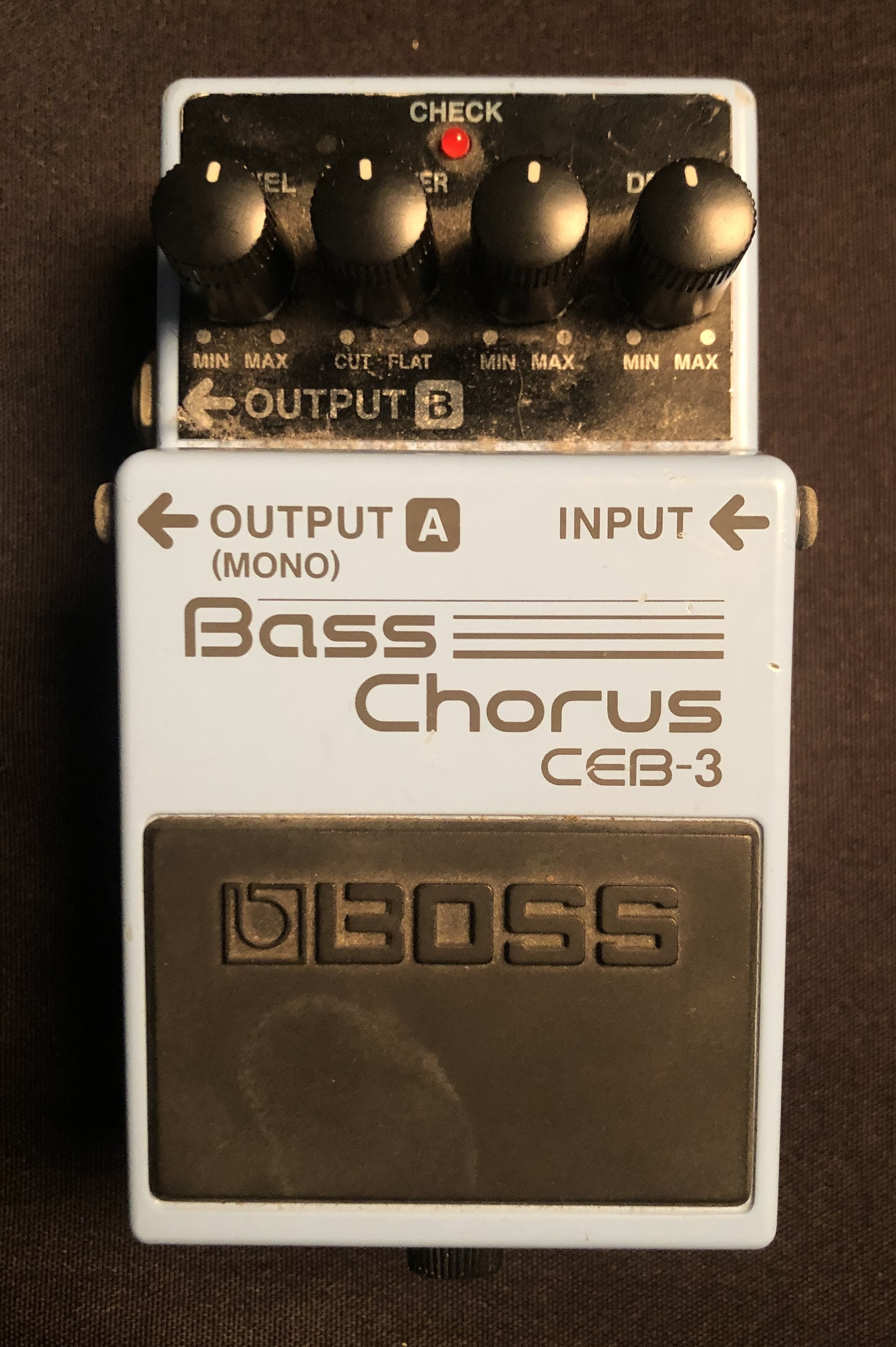 BOSS - CEB-3 Bass Chorus Pedal