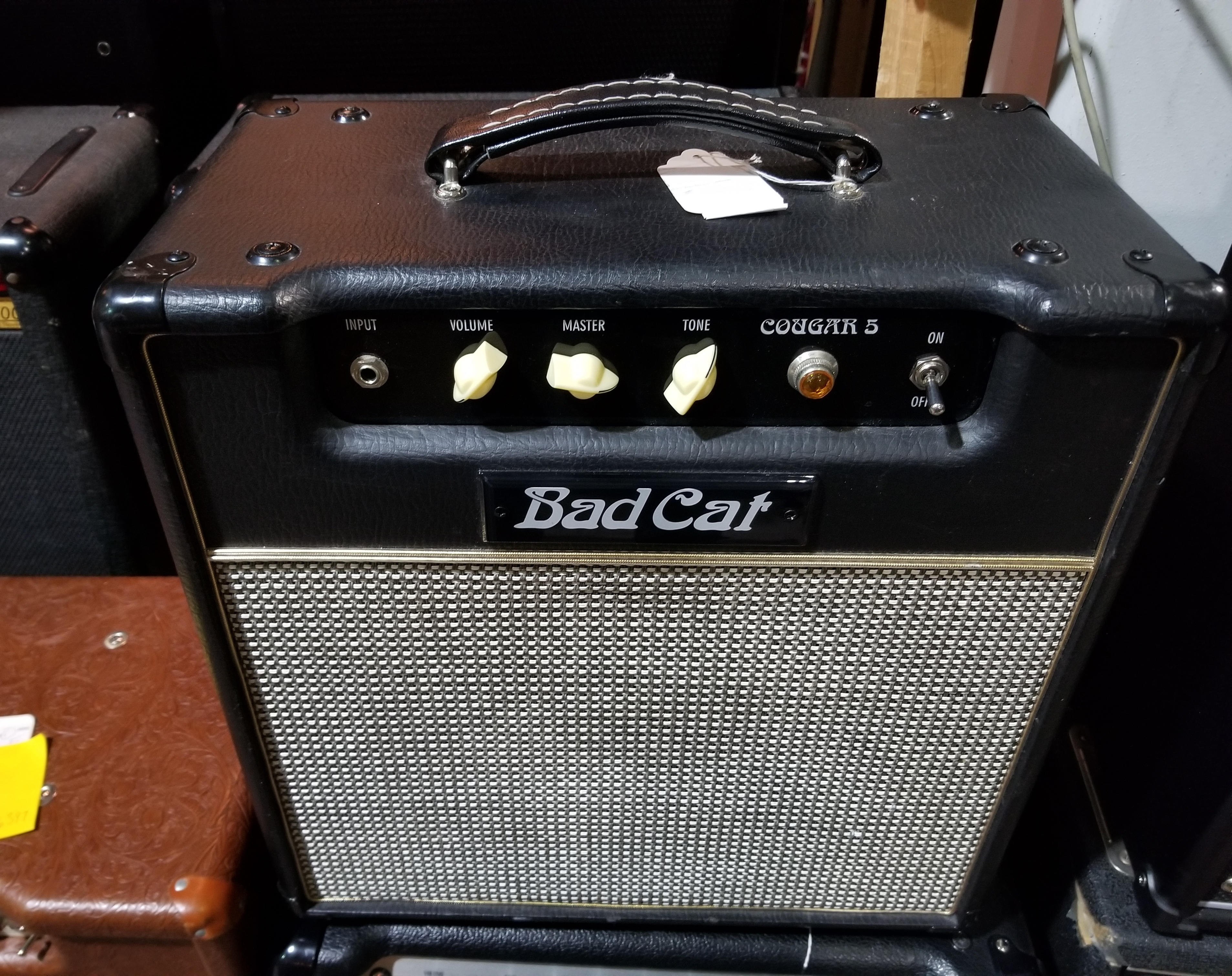BAD CAT COUGAR 5 1x12 Tube Guitar Combo Amp - Local Pickup Only!