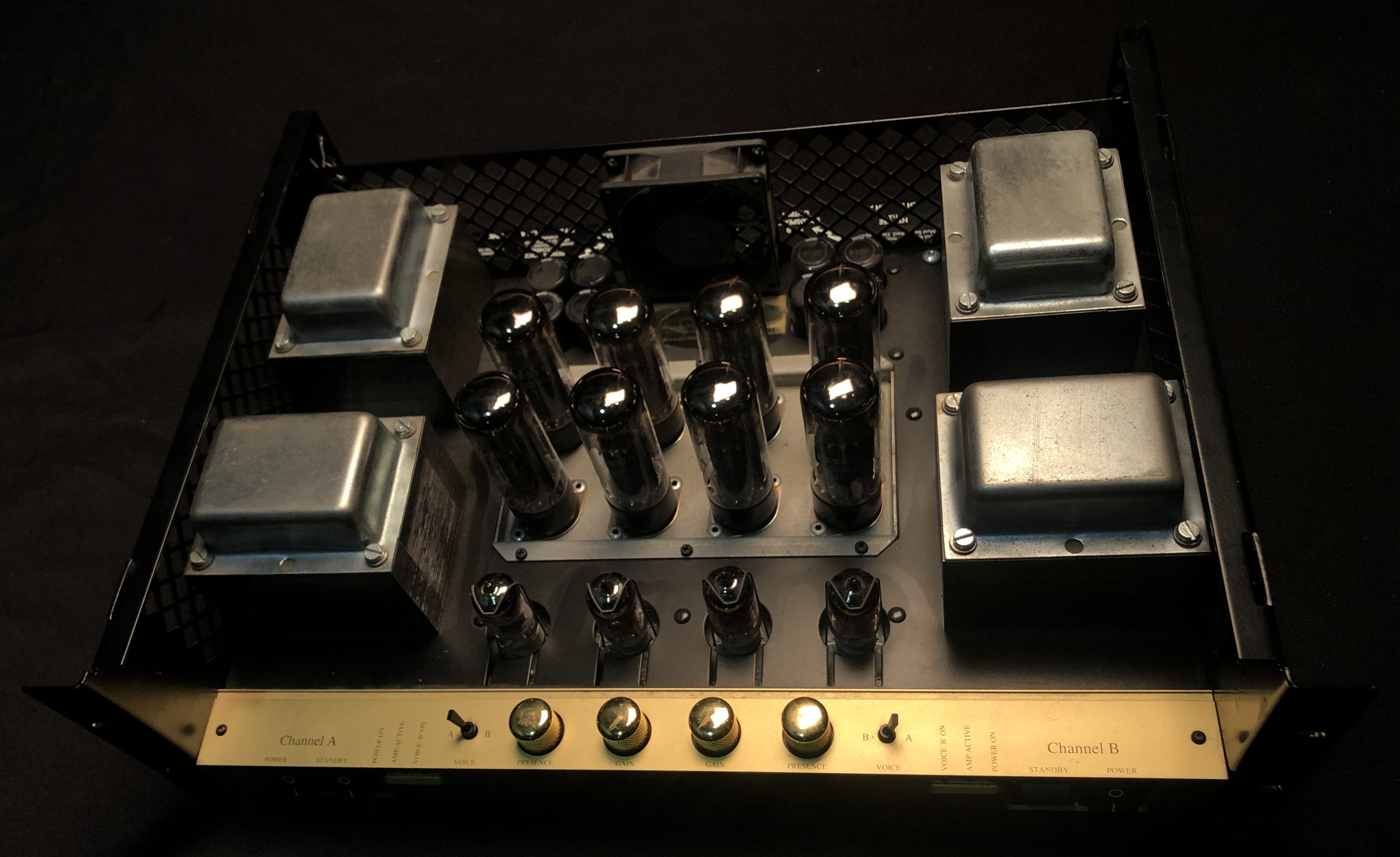 MARSHALL - 9200 Power Amp (missing top cover) **LOCAL PICKUP ONLY**