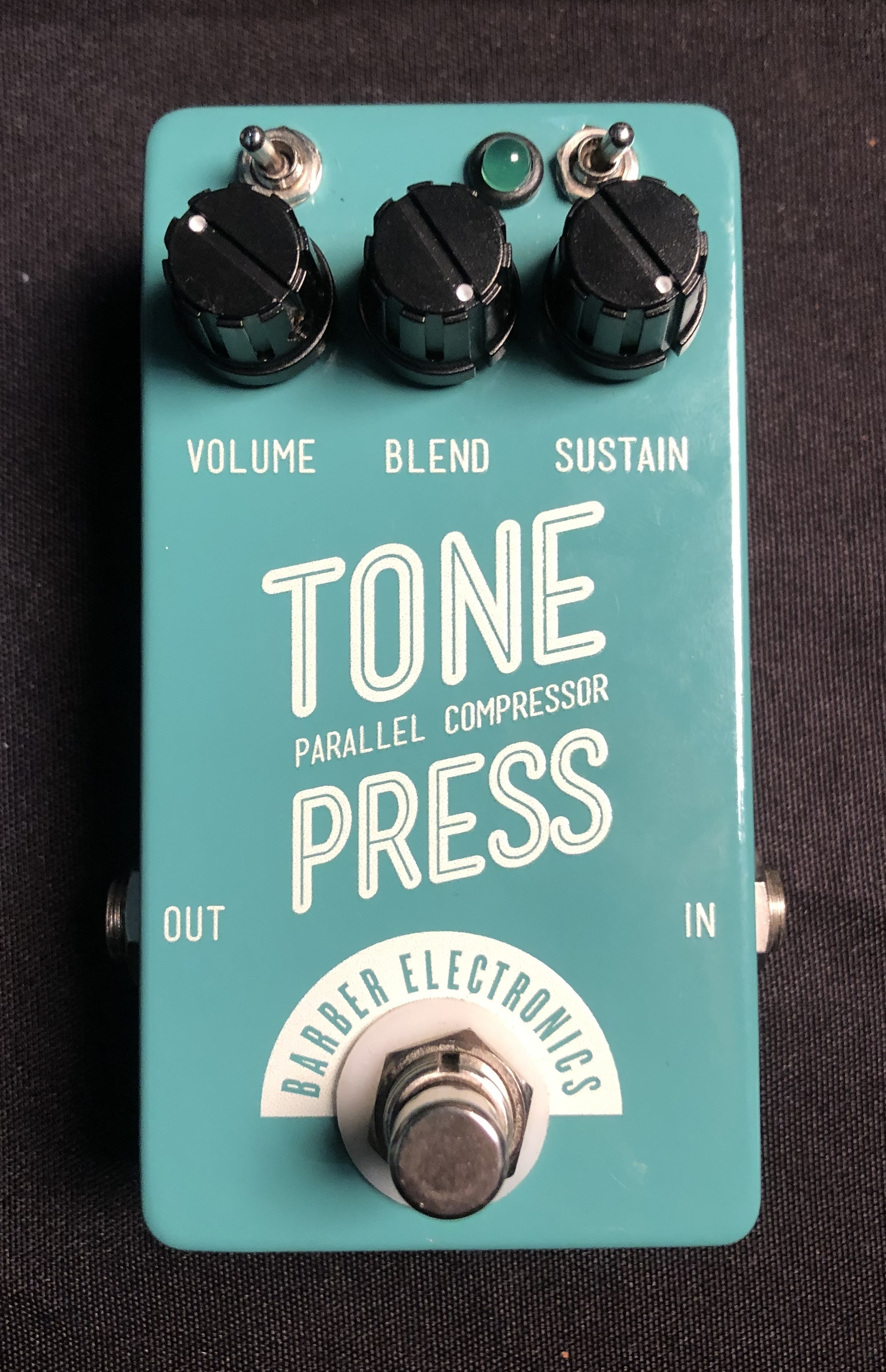 BARBER - Tone Press Parallel Compressor Pedal