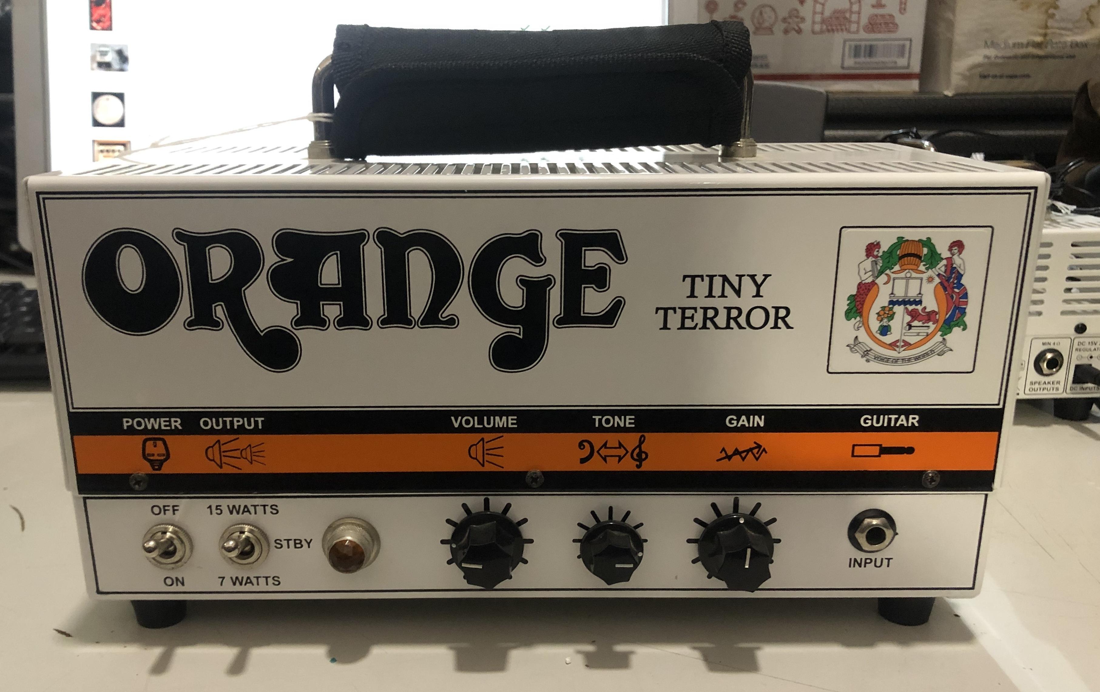 ORANGE - Tiny Terror 7/15-Watt Head