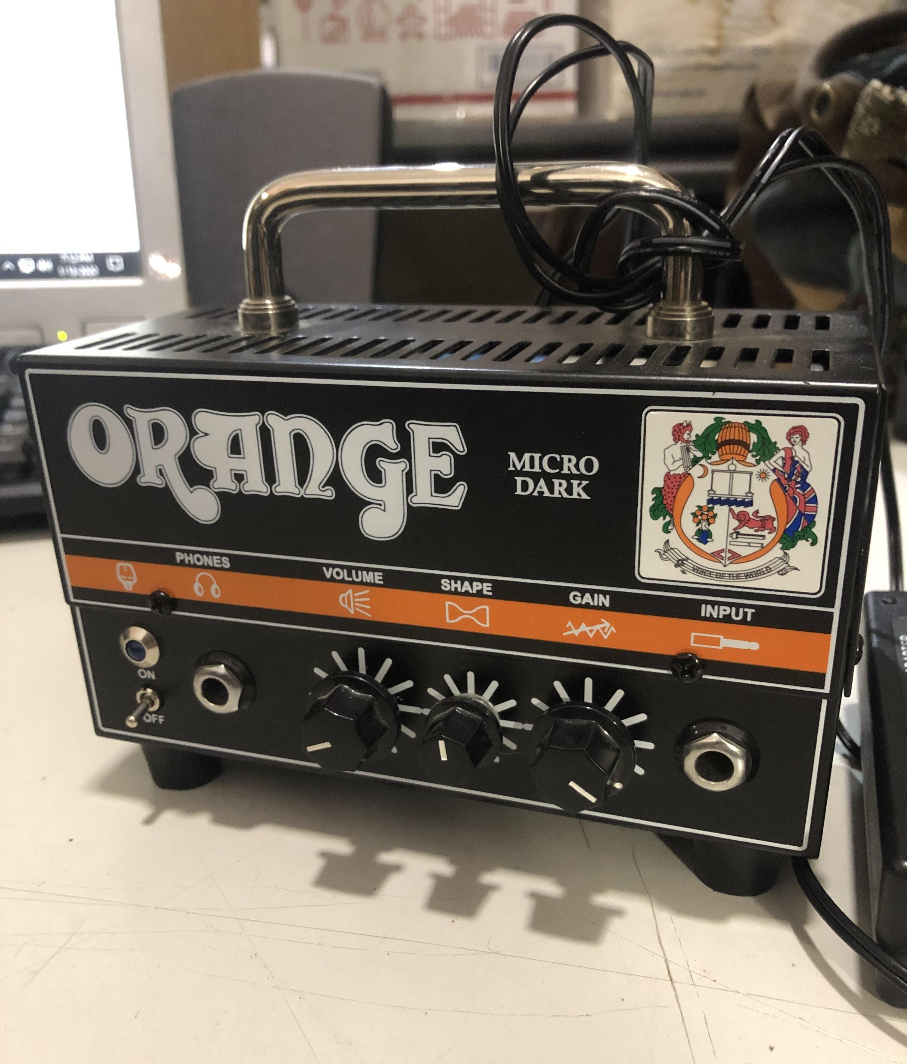 ORANGE - Micro Dark 20-Watt Head