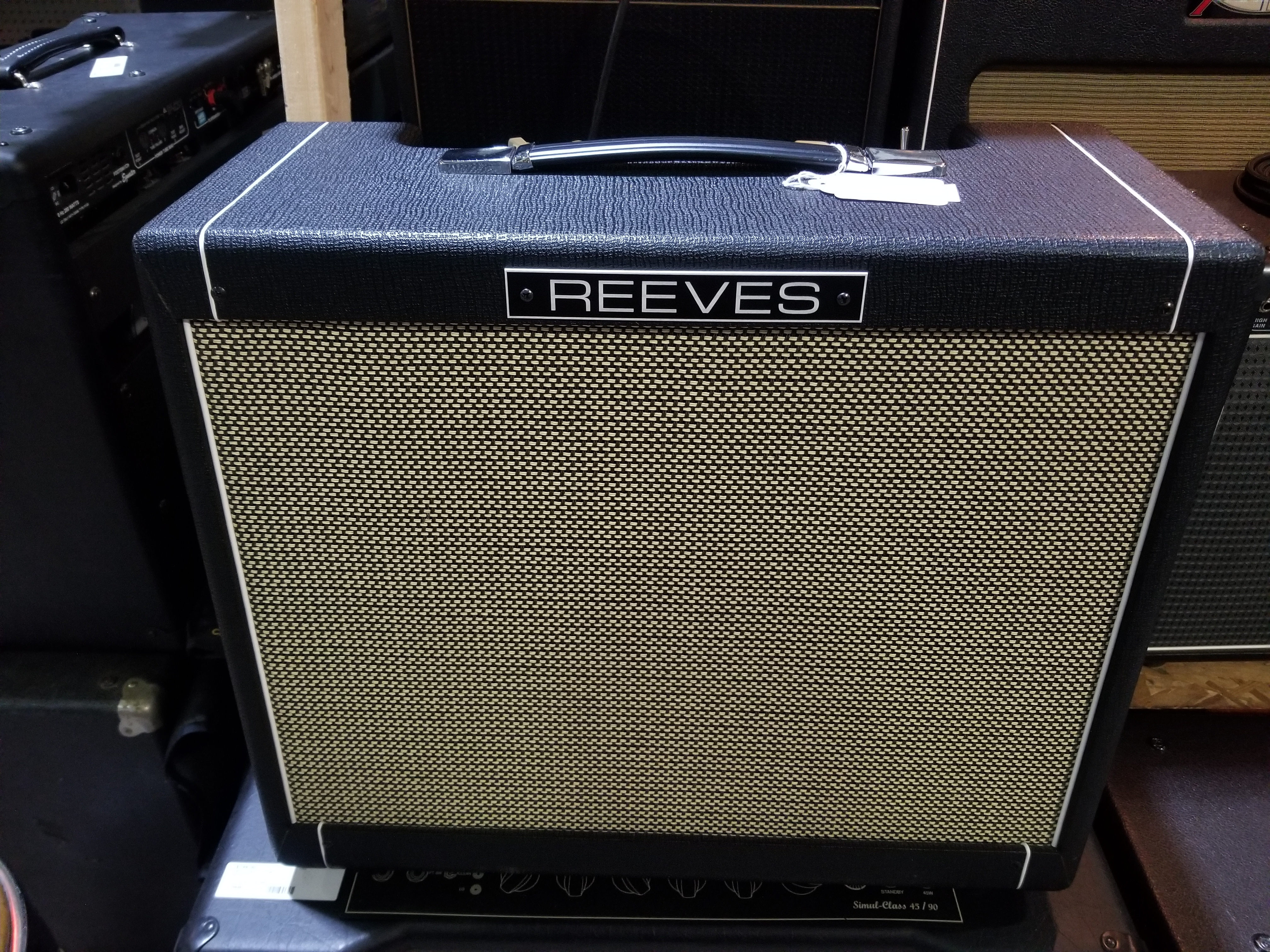 REEVES Custom 12 PS 1x12 Guitar Amp Combo - Local Pickup Only!