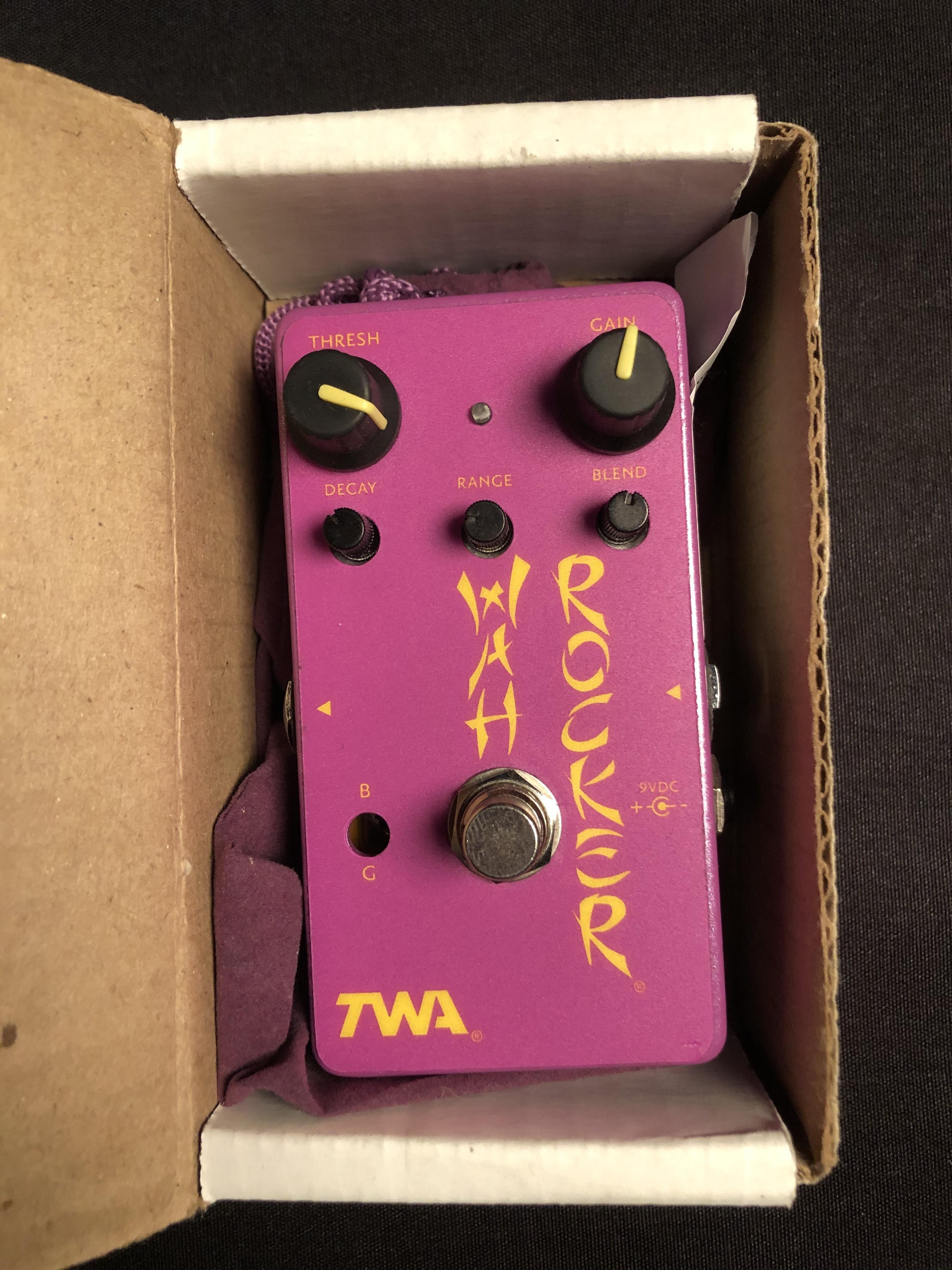 TWA - Wah Rocker Envelope Filter Pedal