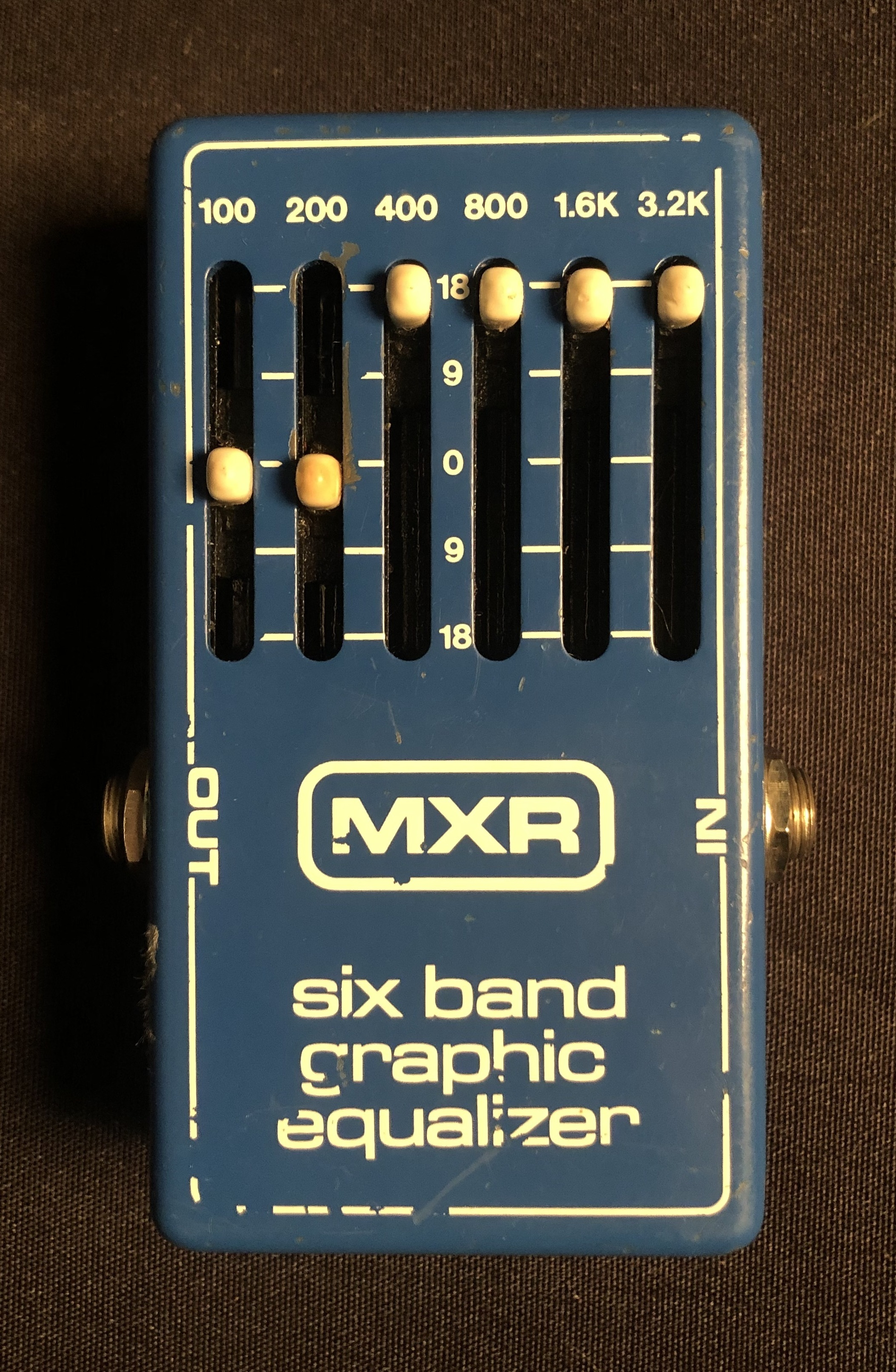 MXR - Six Band Graphic Equalizer Pedal