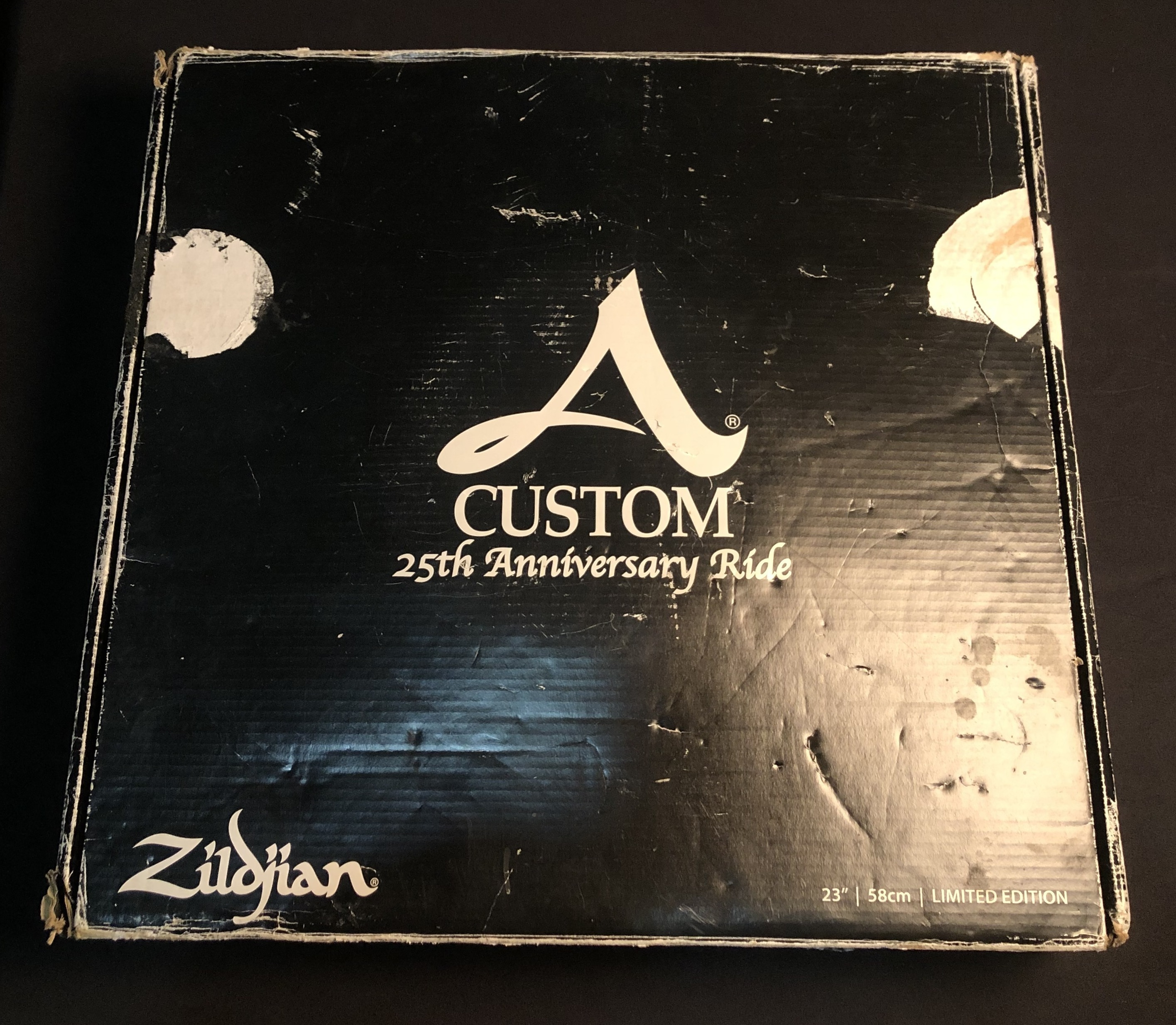 ZILDJIAN - 25th Anniversary Limited Edition a Custom Ride Cymbal 23