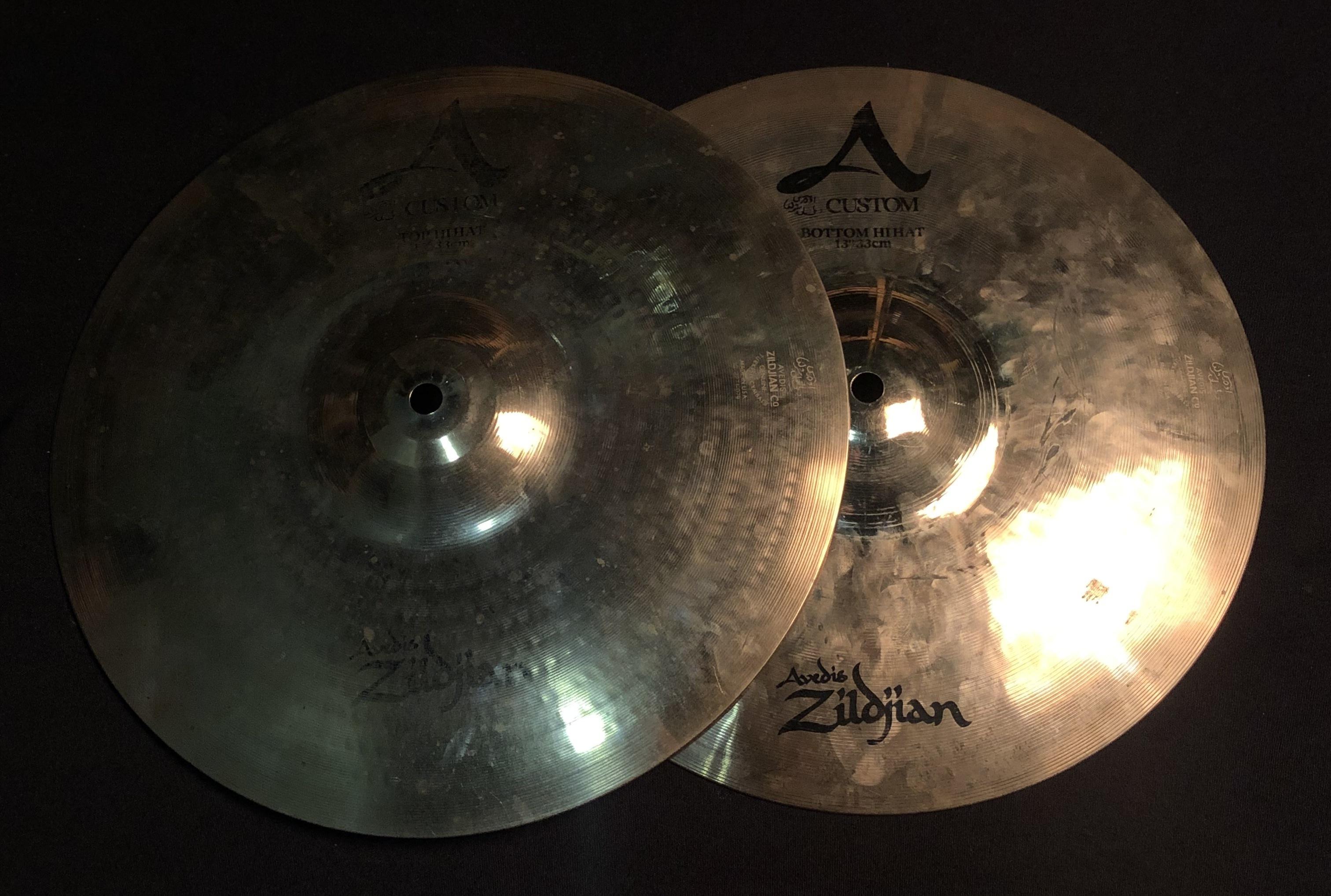 ZILDJIAN - A Custom Hi-Hats 13