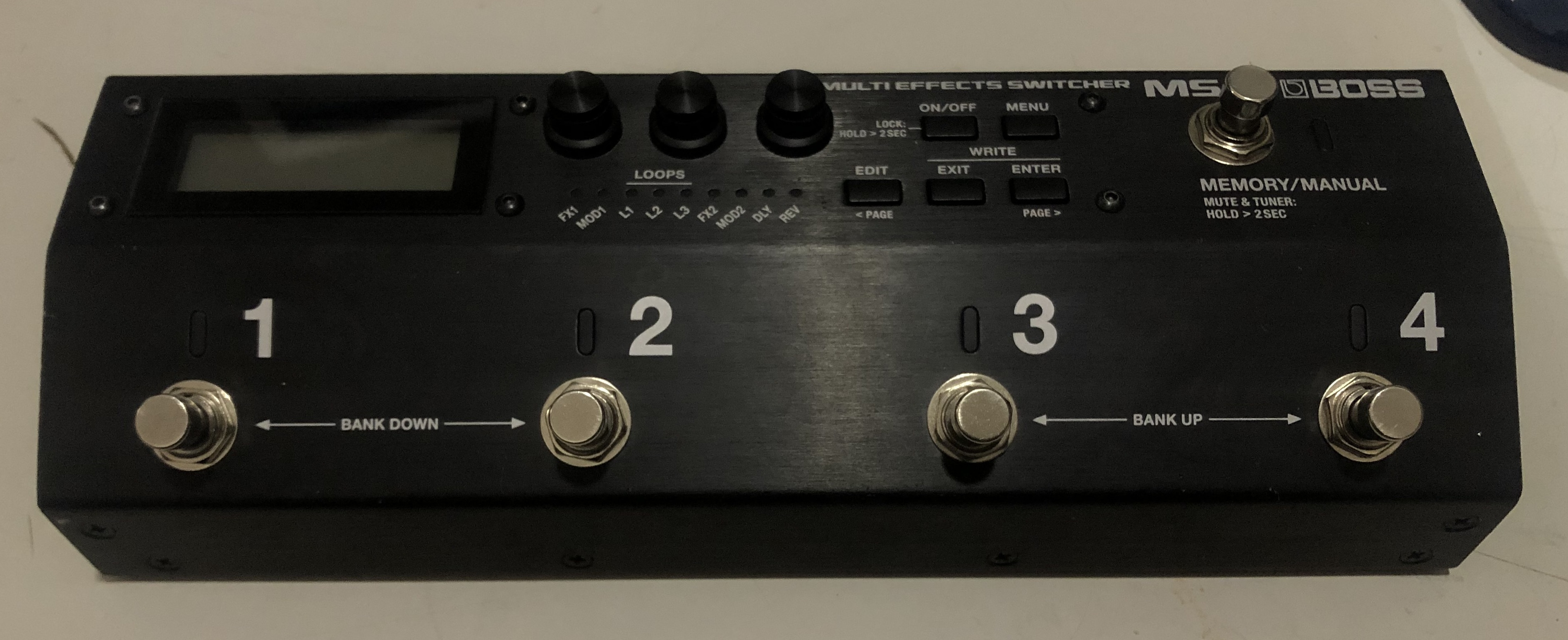 BOSS - MS-3 Multi Effects Switcher Pedal