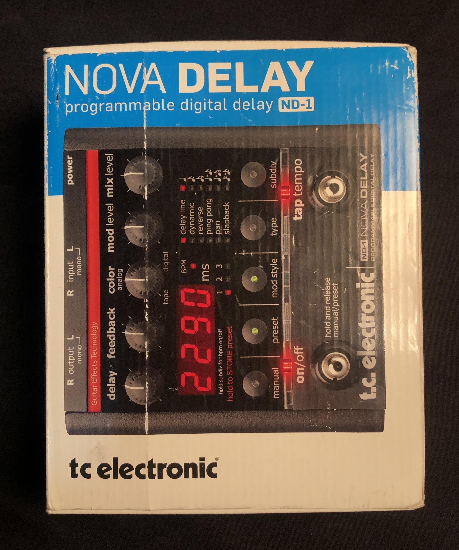 TC ELECTRONIC - ND-1 Nova Delay Programmable Digital Delay Pedal