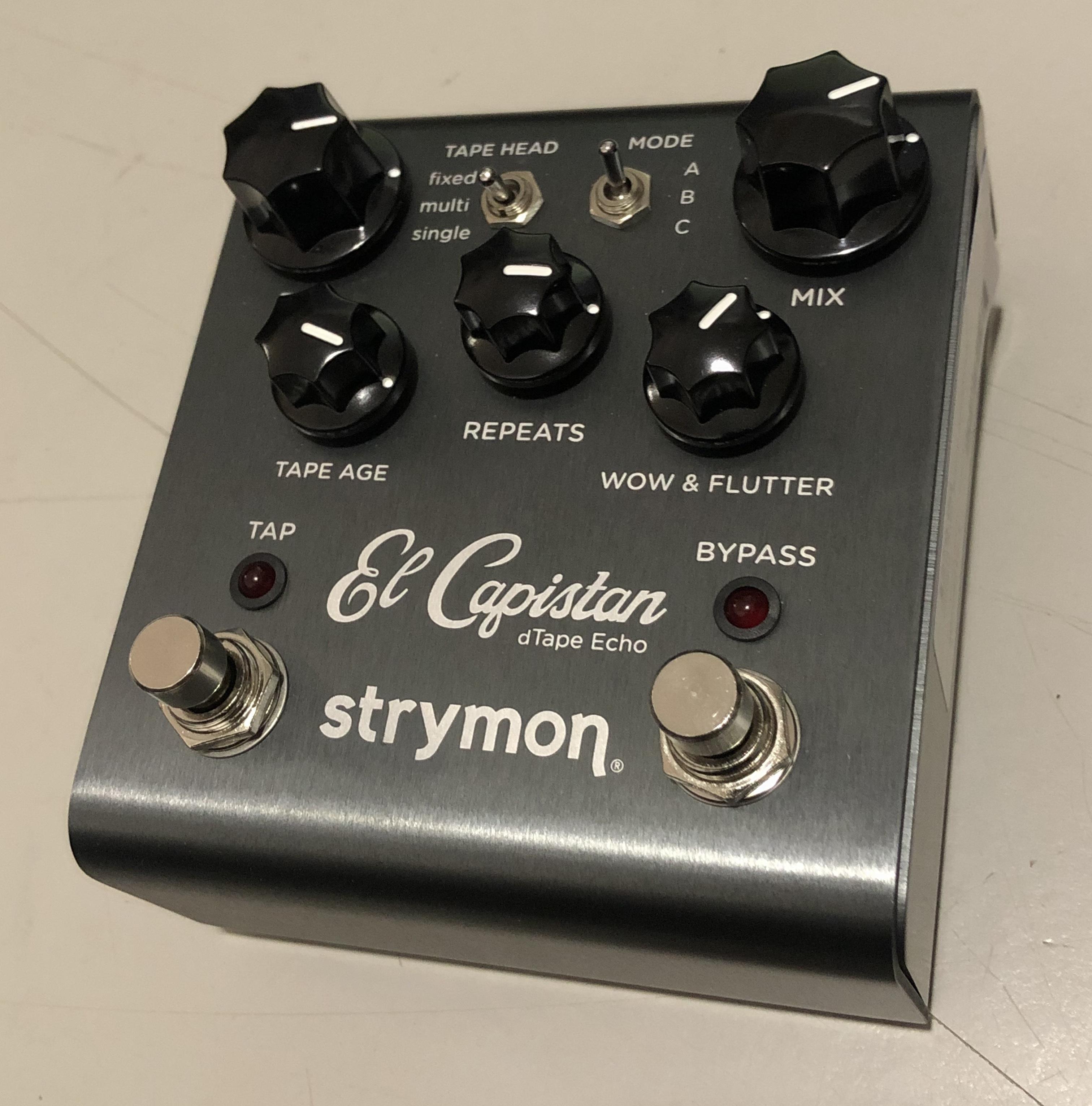STRYMON - El Capistan Tape Echo Delay Pedal