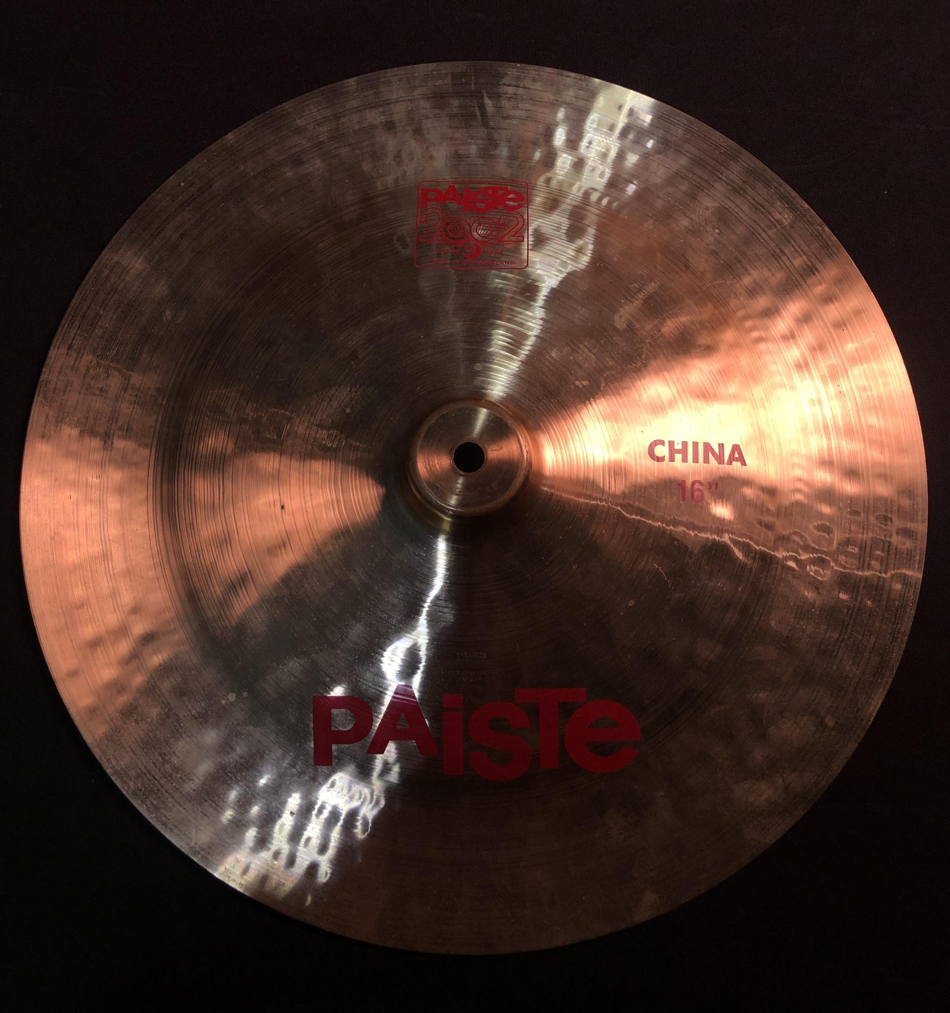 PAISTE - 2002 China Cymbal 16