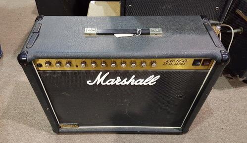 marshall jcm 800 100w lead series 2x12 tube guitar combo amp ebay. Black Bedroom Furniture Sets. Home Design Ideas