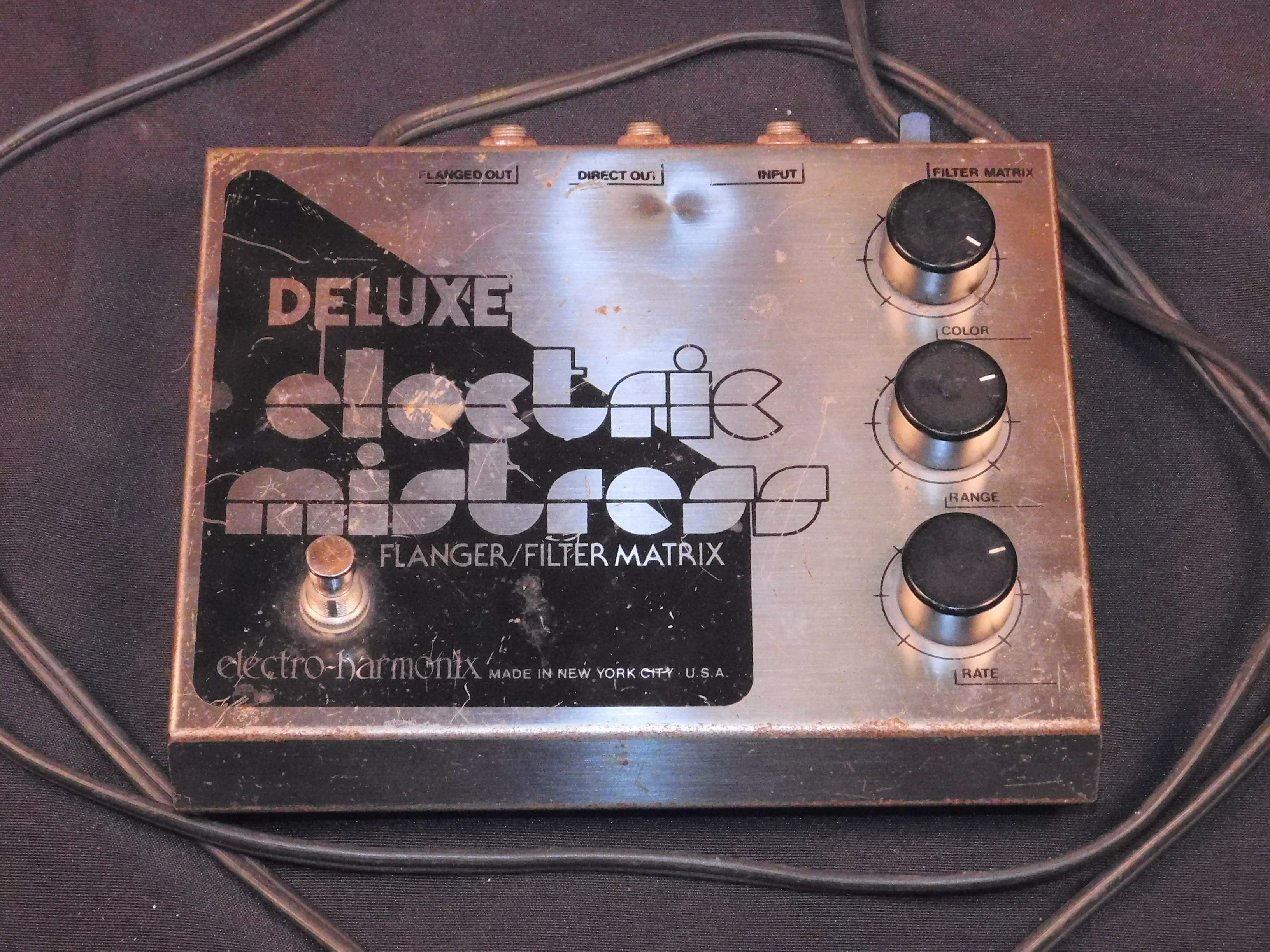 ELECTRO-HARMONIX ELECTRIC MISTRESS ***Vintage*** EFFECTS PEDAL - FULLY TESTED!!!