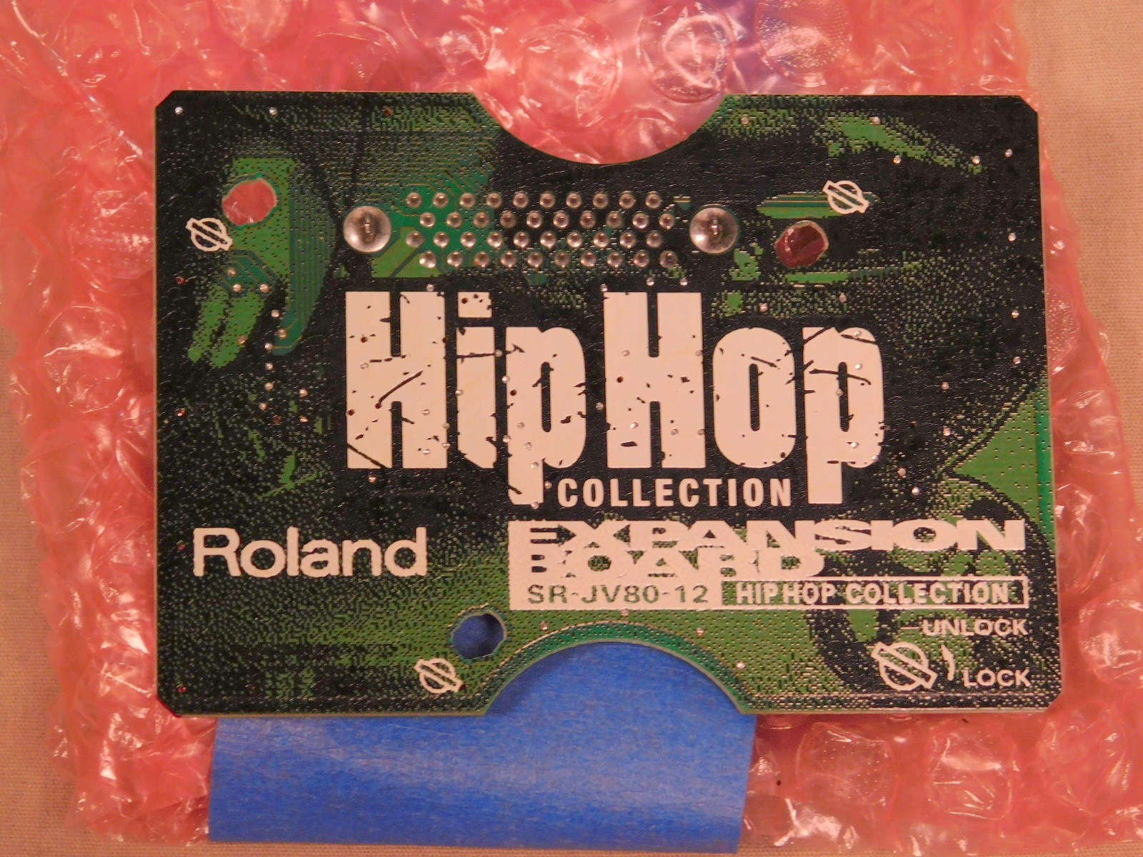 ROLAND SR-JV80-12 HIP HOP EXPANDION BOARD