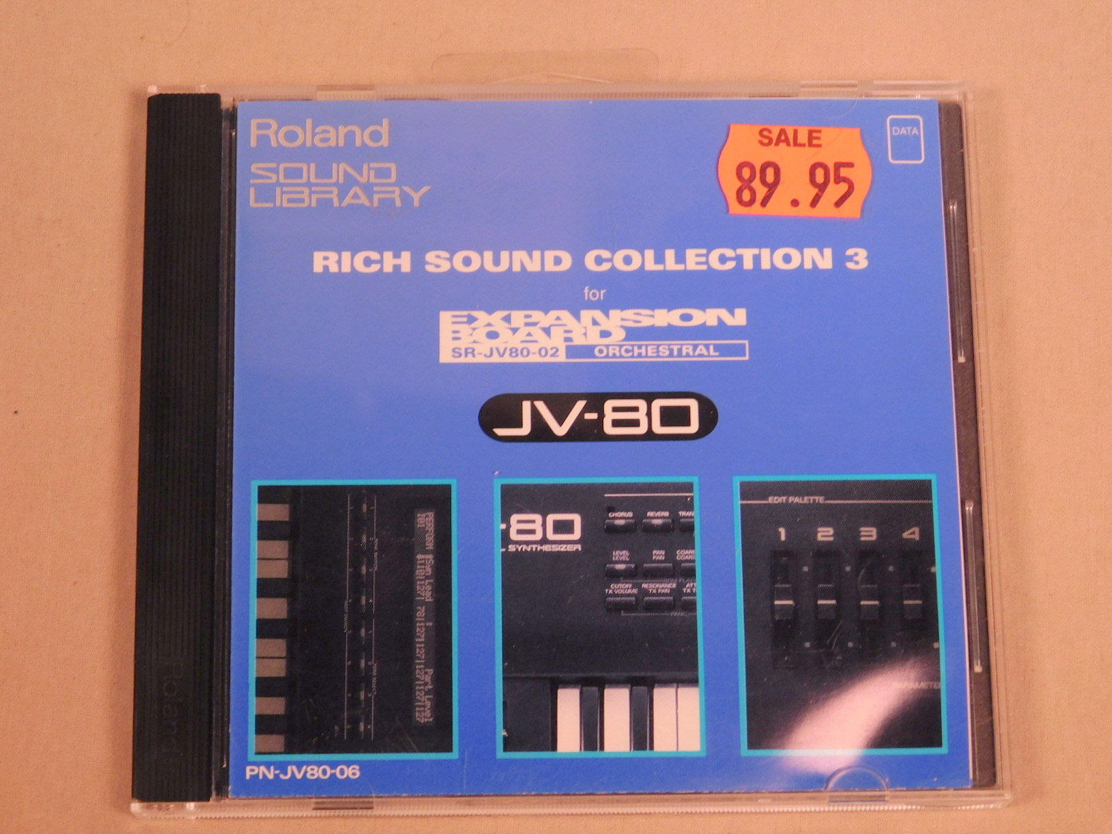 ROLAND SR-JV80-02 RICH SOUND COLLECTION 3 III EXPANSION BOARD FOR JV-80